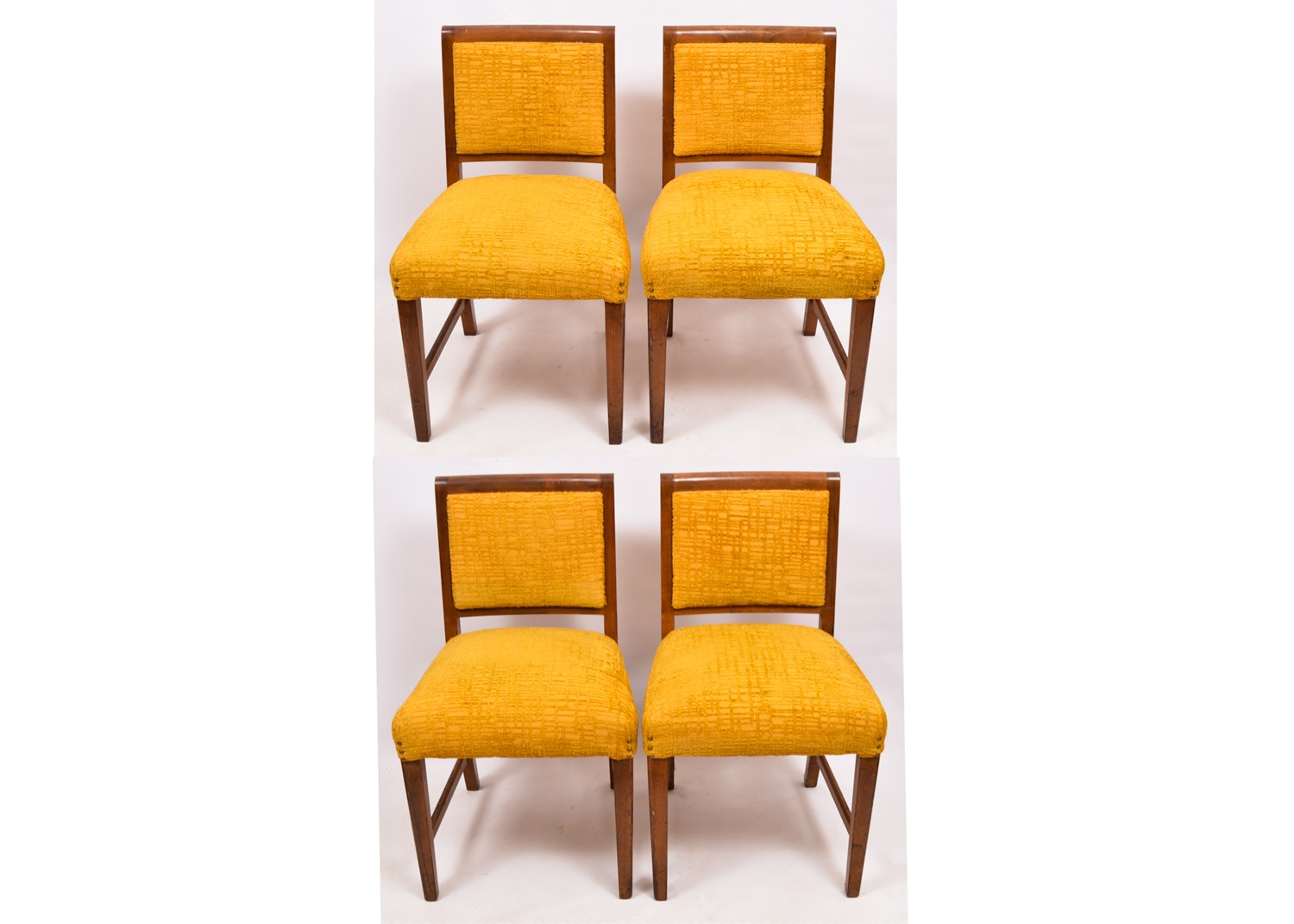 Mid Century Modern Custom Upholstered Dining Chairs