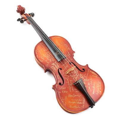 St. Louis Symphony Orchestra Signed Full-Sized Viola
