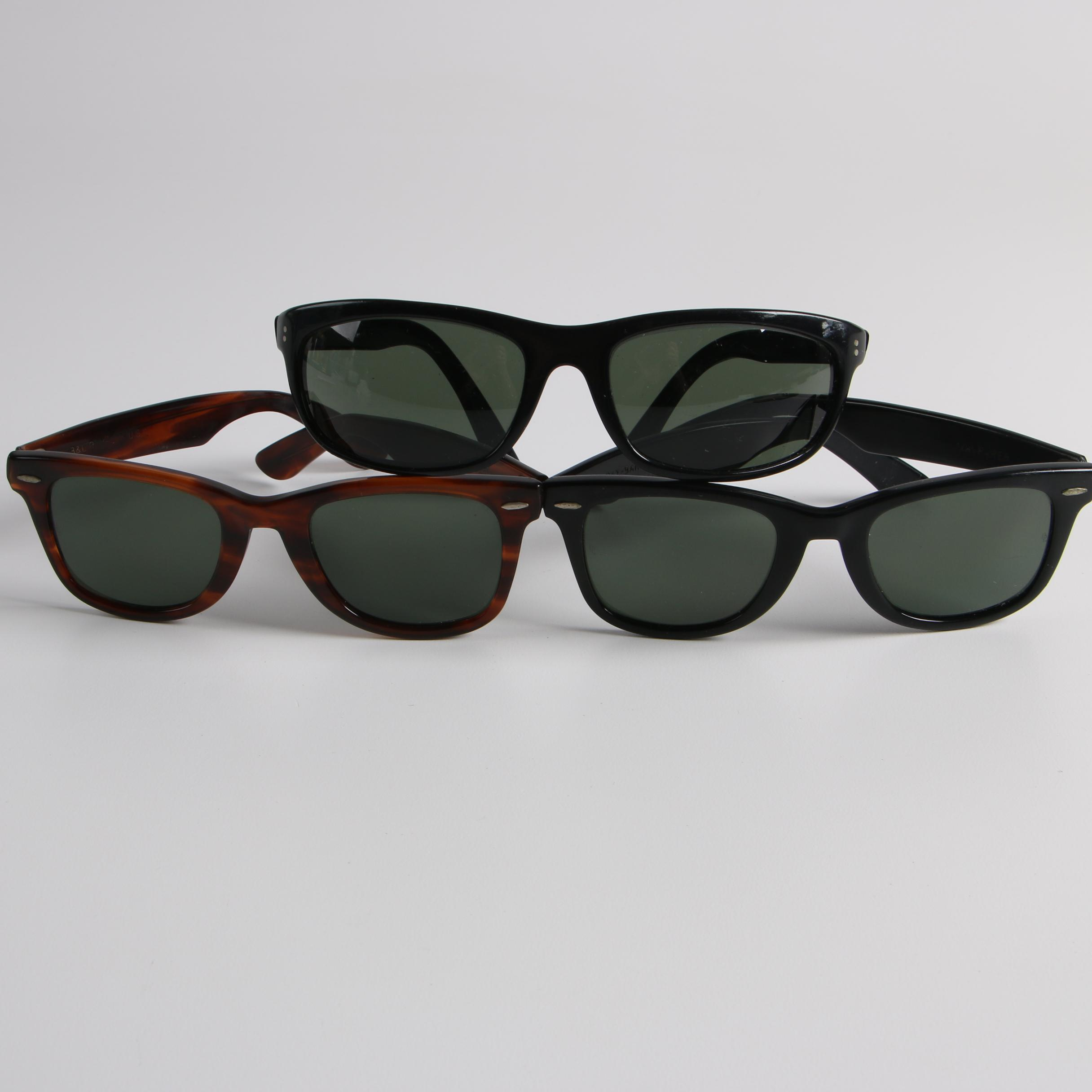 c4185acda ... cheap vintage bl ray ban sunglasses including wayfarer and balorama  467af ccf0f