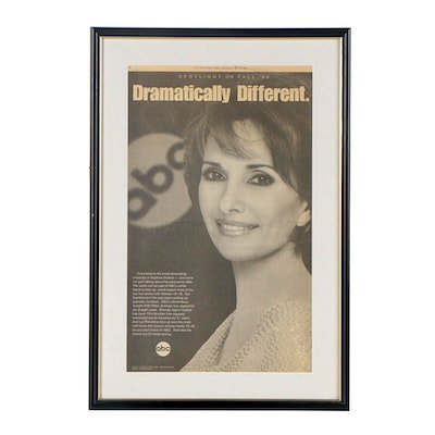"ABC Newspaper Advertisement for Potential Advertisers Featuring ""Erica Kane"""