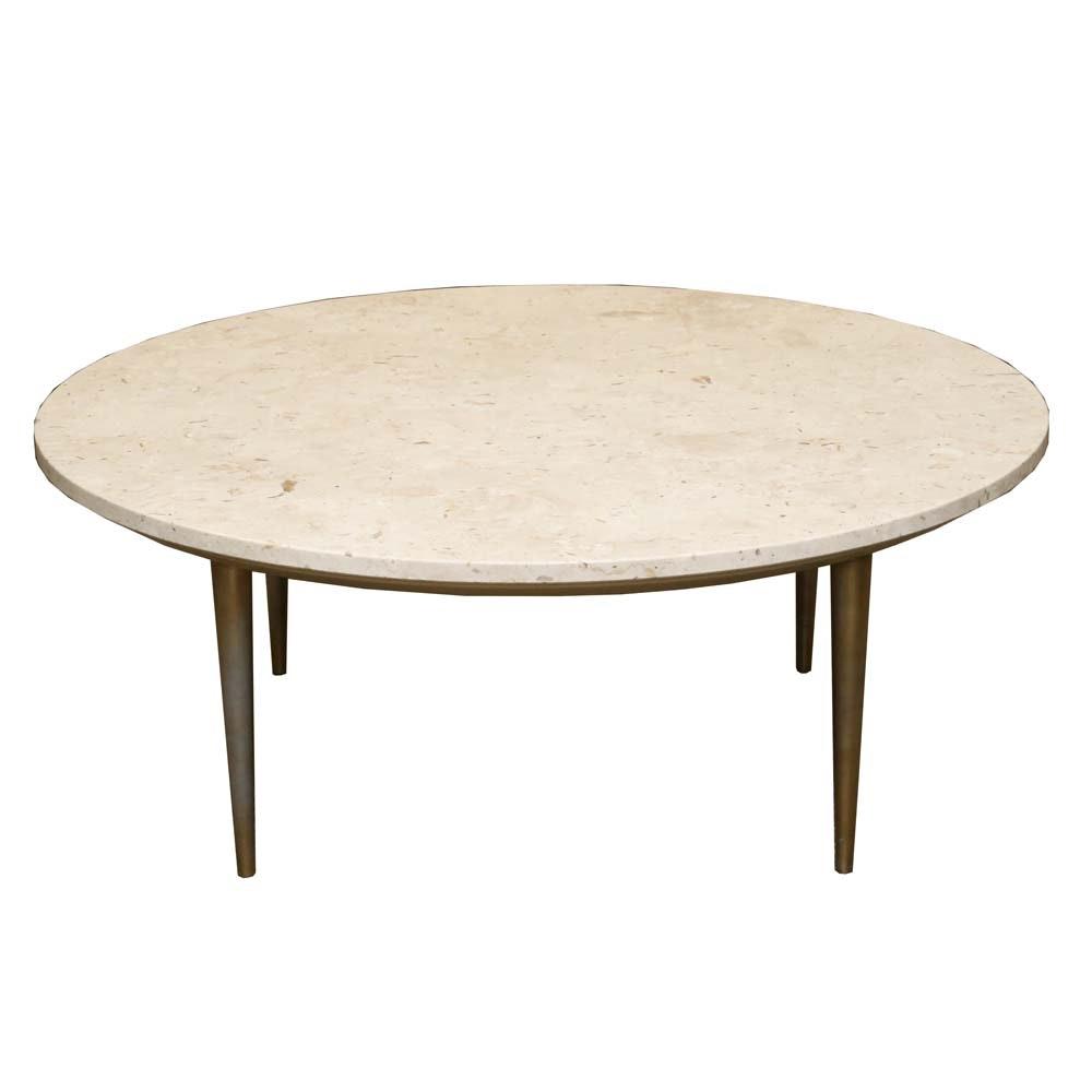 Weiman Mid-Century Modern Heirloom Granite Coffee Table