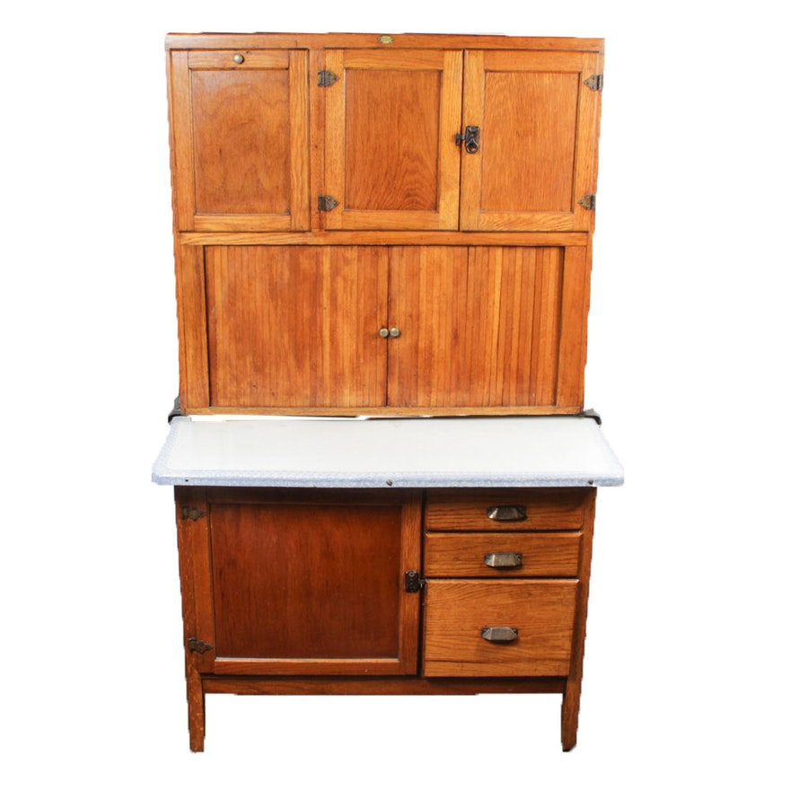 Antique Showers Brothers Hoosier Cabinet : EBTH