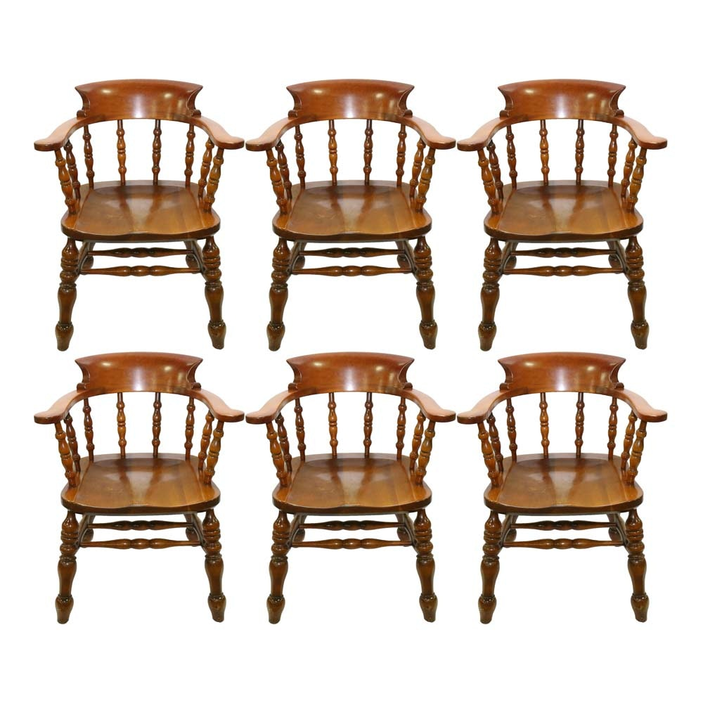 Stickley Furniture Cherry Dining Chairs ...