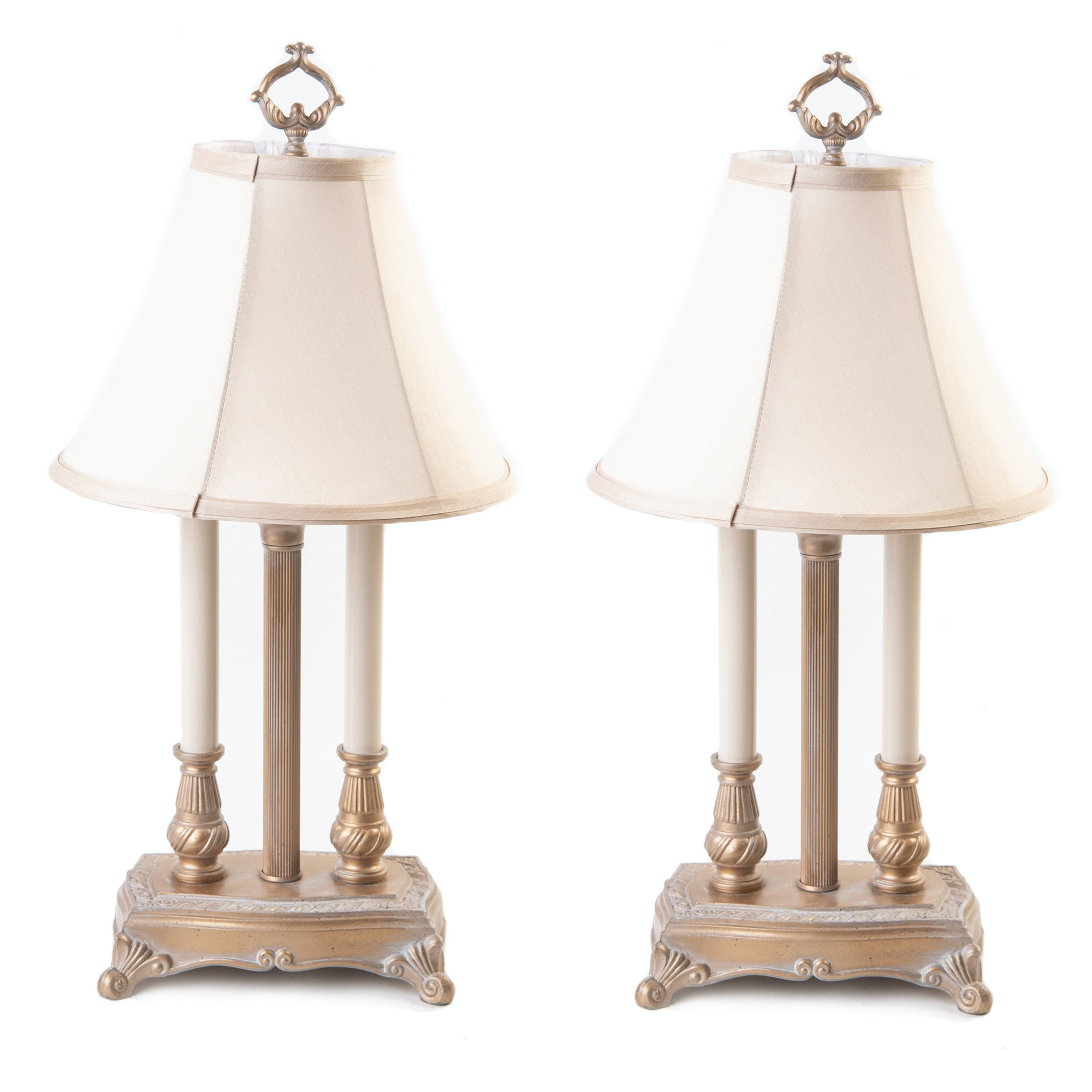 Bouillotte Style Table Lamps