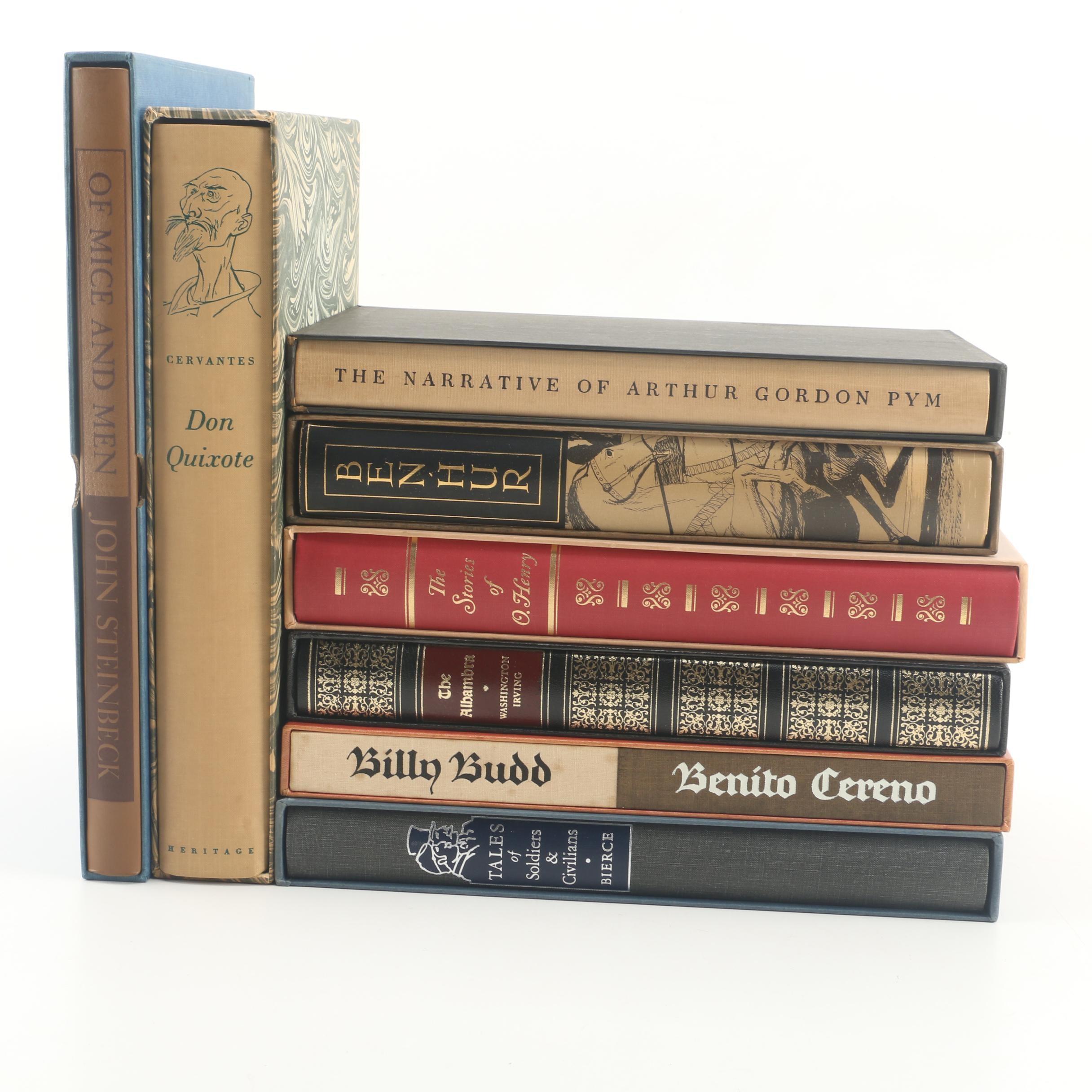 """Heritage Press Editions of Classics including """"Don Quixote"""""""