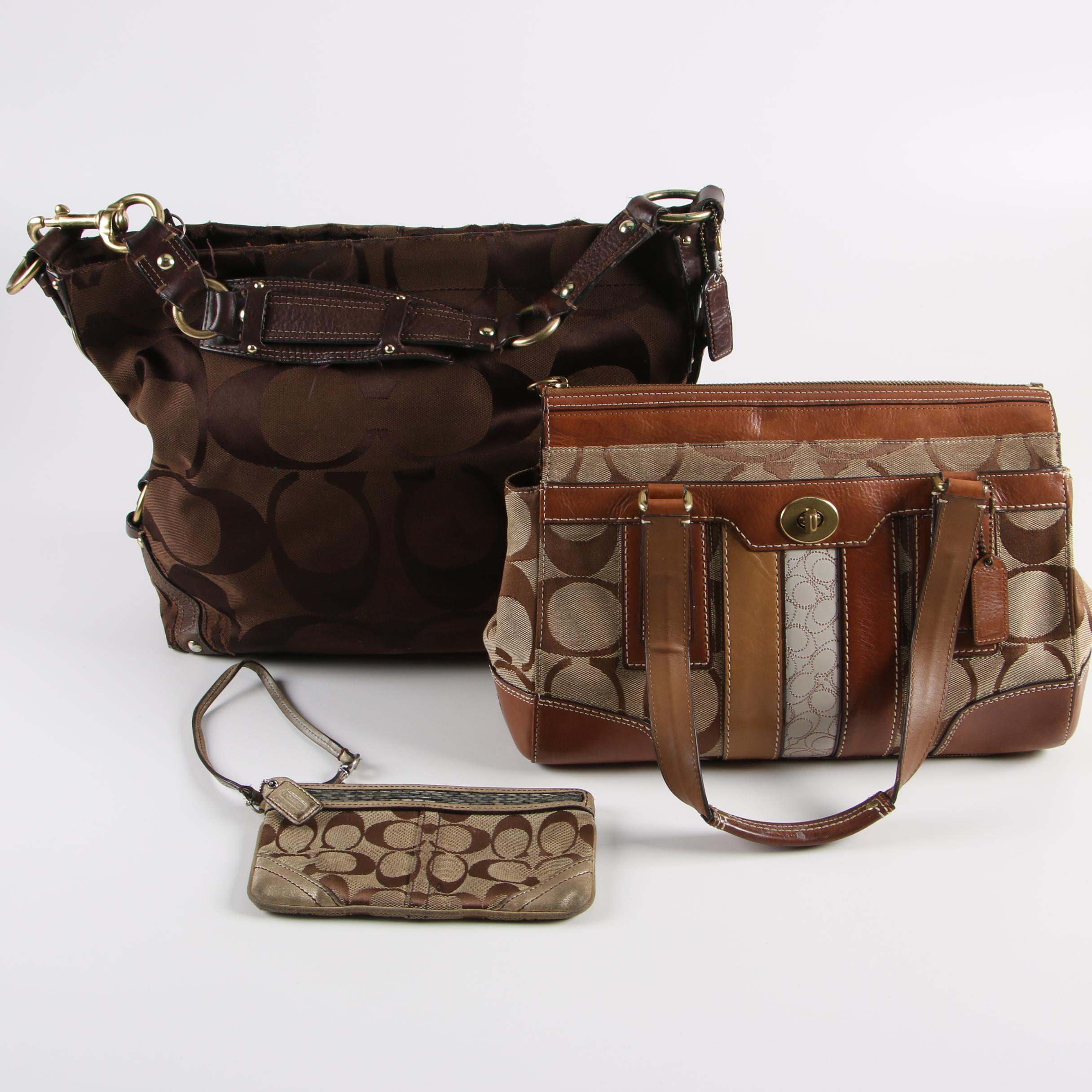 ASSORTED COACH WRISTLETS /& HOBO WRISTLETS