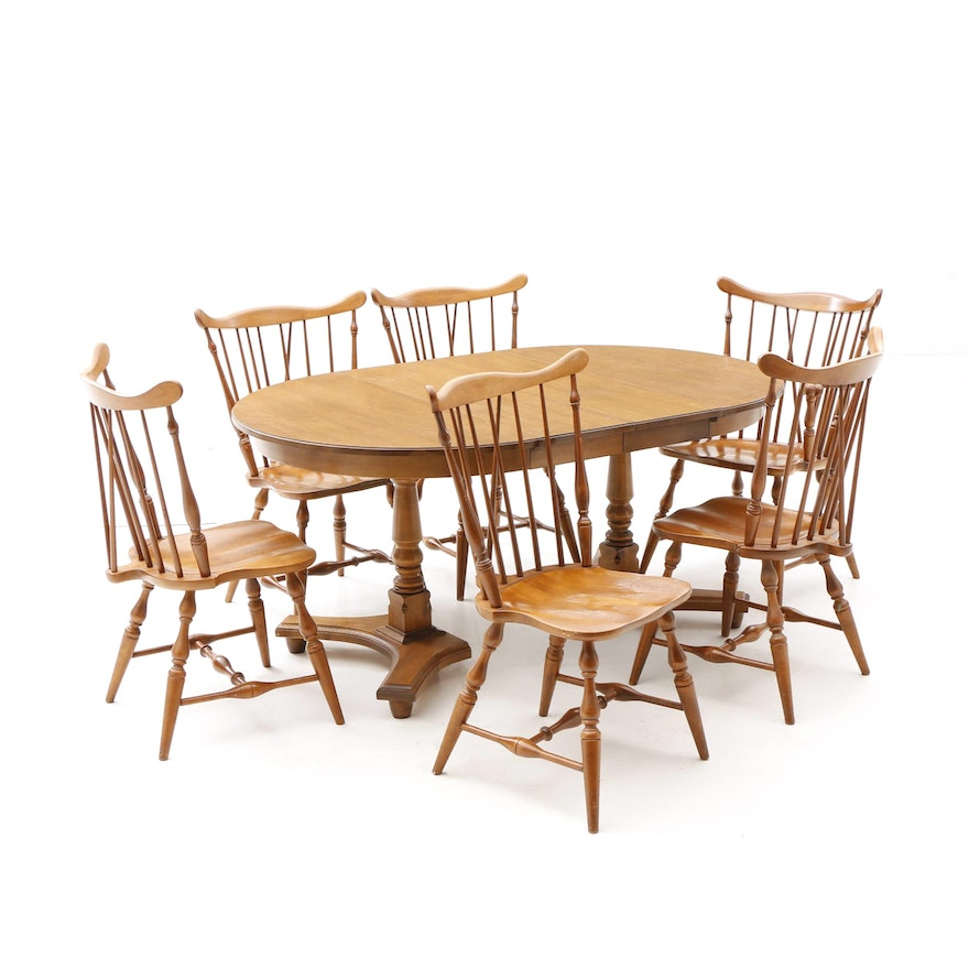 Fantastic Colonial Style Dining Table And Chairs Download Free Architecture Designs Rallybritishbridgeorg
