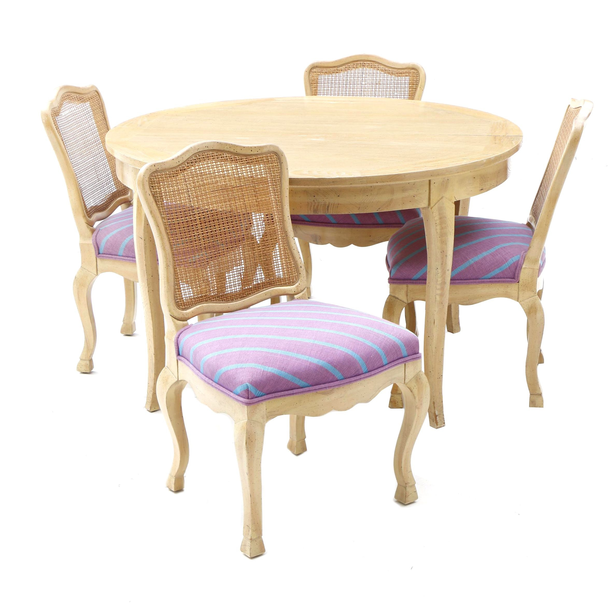 French Provisional Style Dining Set