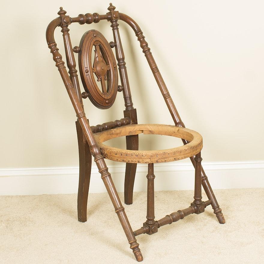 Antique Hunzinger Victorian Side Chair