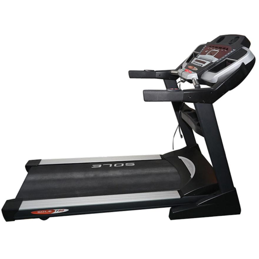 Sole Treadmill S77: Sole F80 Treadmill : EBTH
