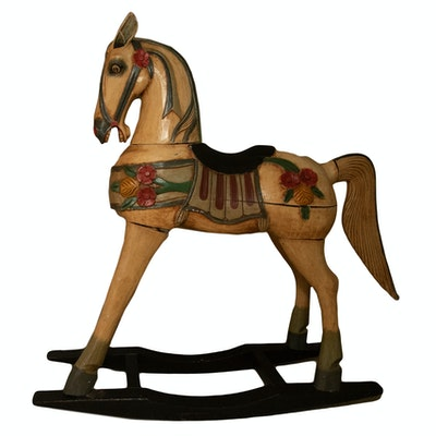 Reproduction of a Victorian Rocking Horse