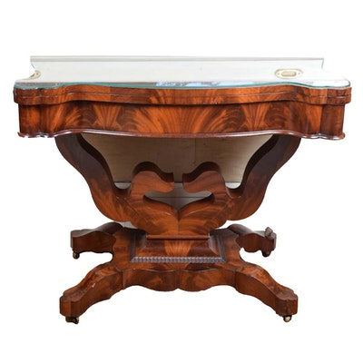 Mid 19th Century Empire Revival Gaming Table
