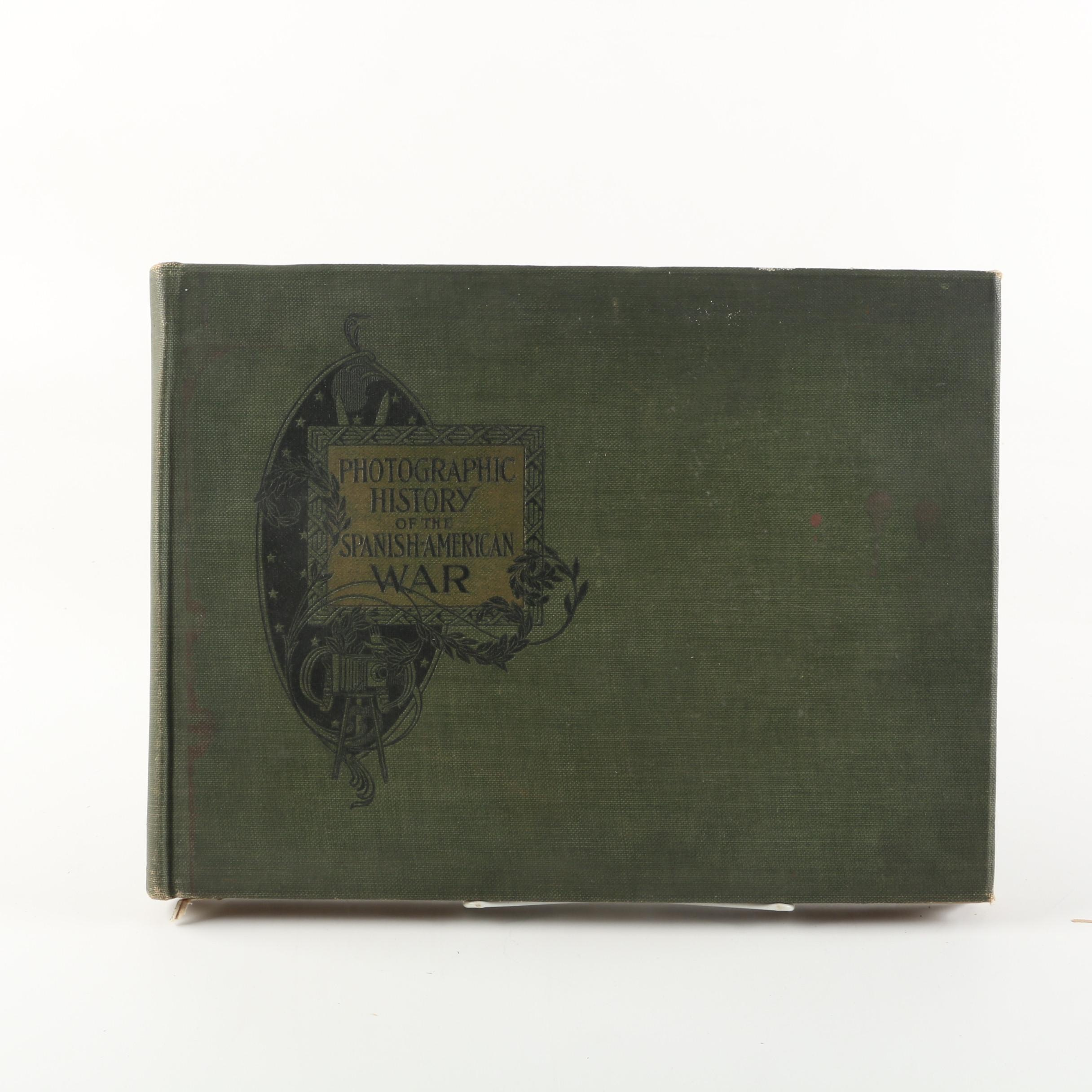 "1898 ""Photographic History of the Spanish-American War"""