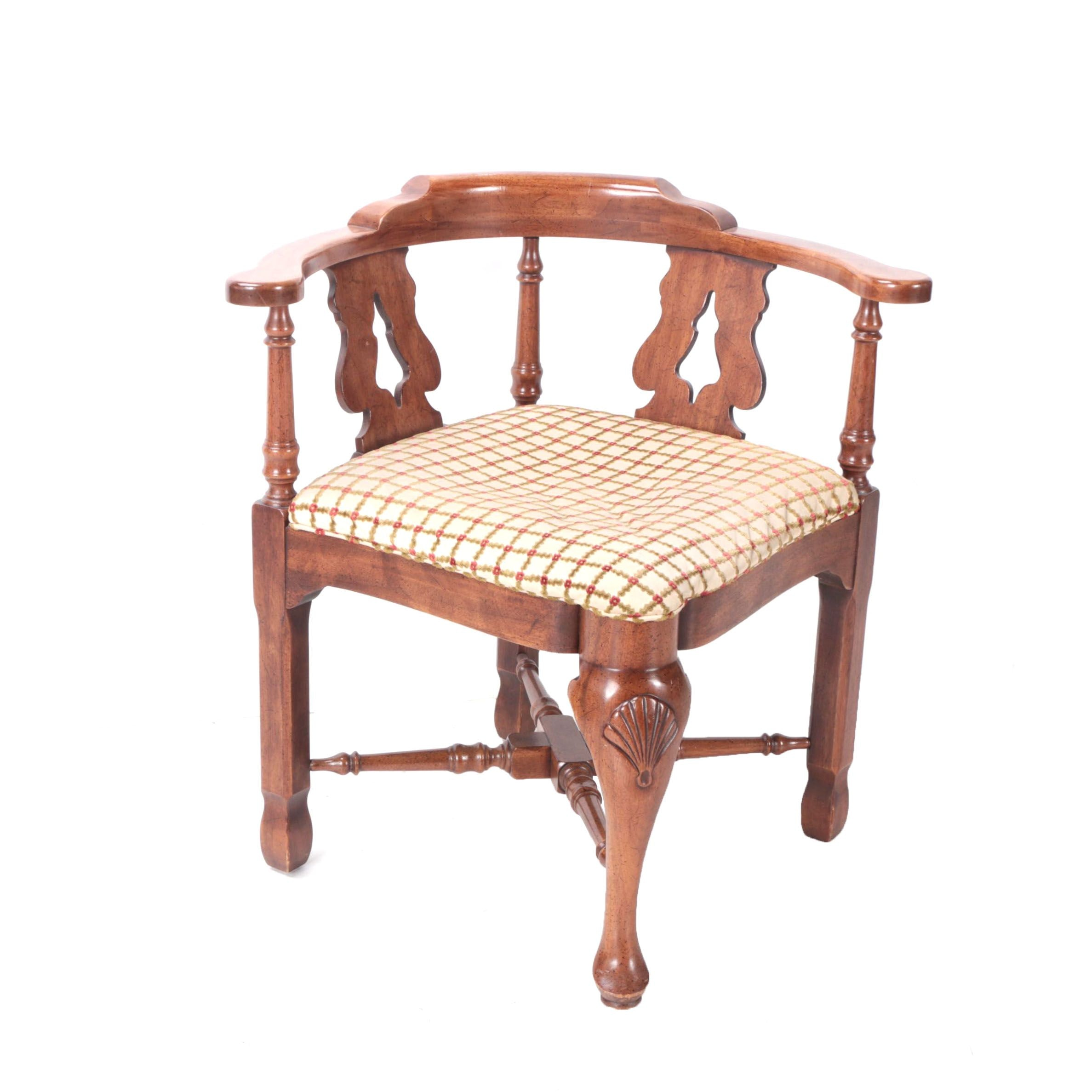 Vintage Georgian Style Corner Chair