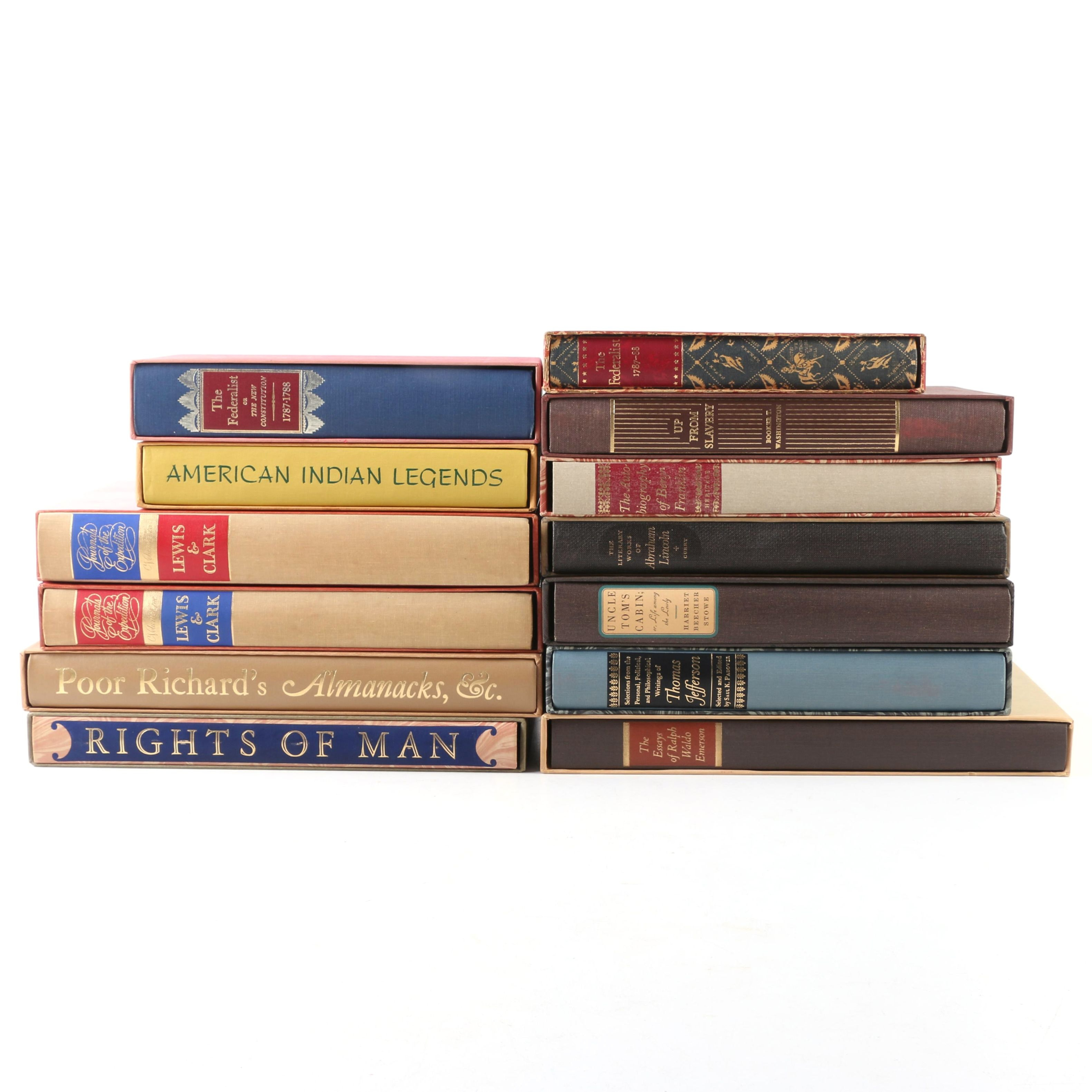 "Vintage The Heritage Press Books including ""The Federalist Papers"""