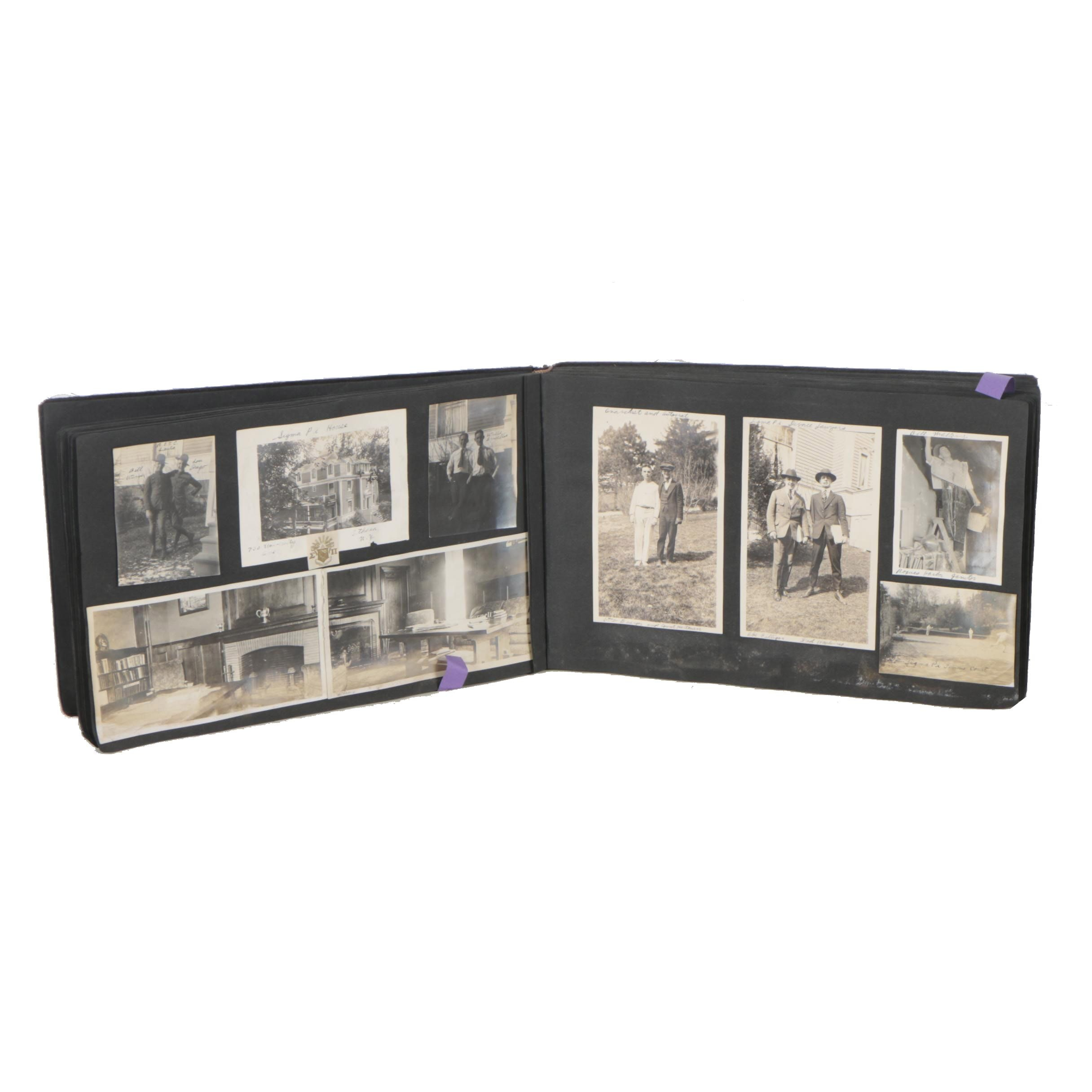 Early 20th Century Gelatin Silver Print Photo Album