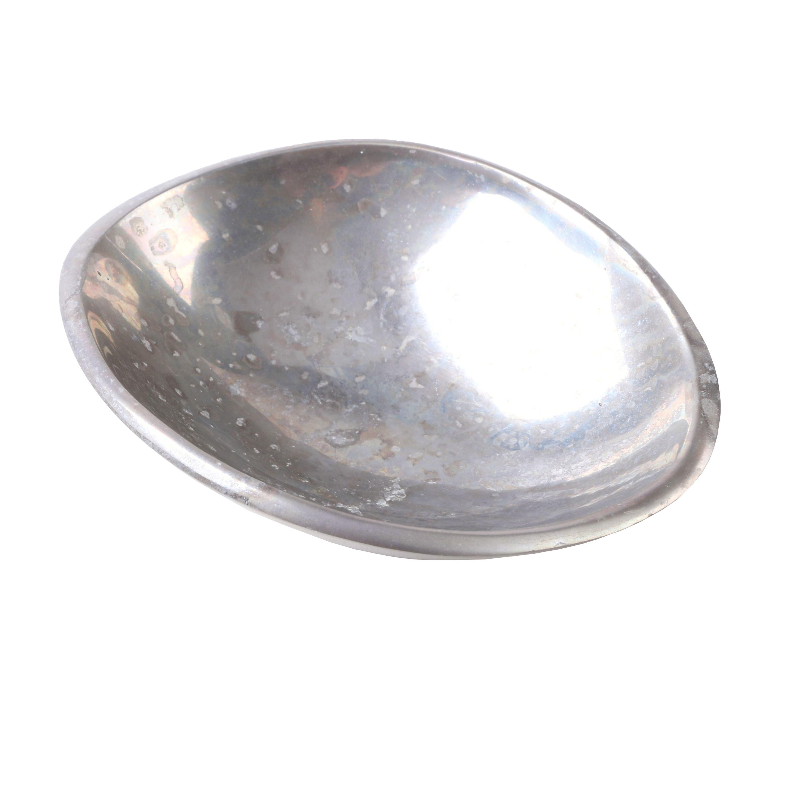 Modern Style Silver Alloy Bowl