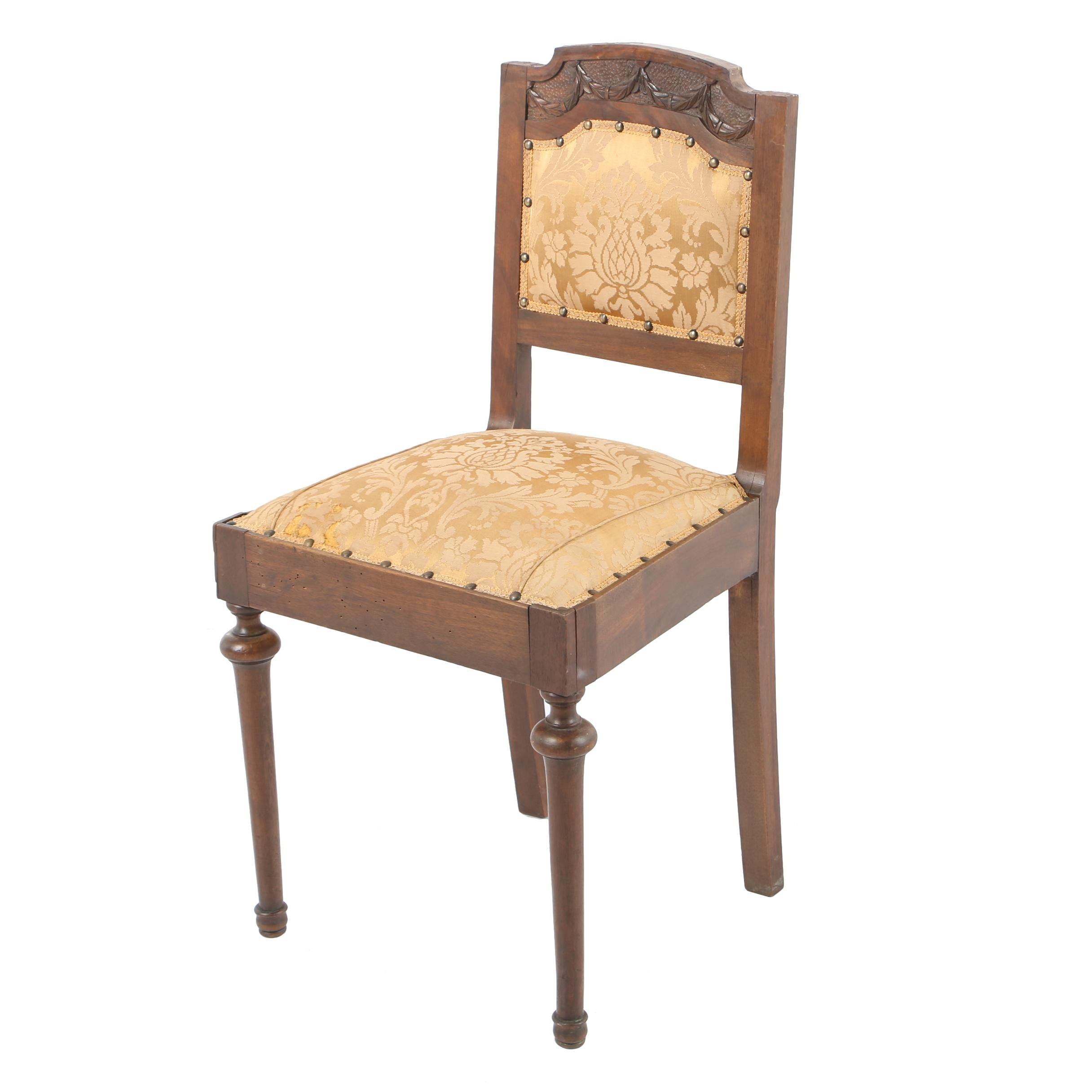 Antique Louis XVI Style  Side Chair