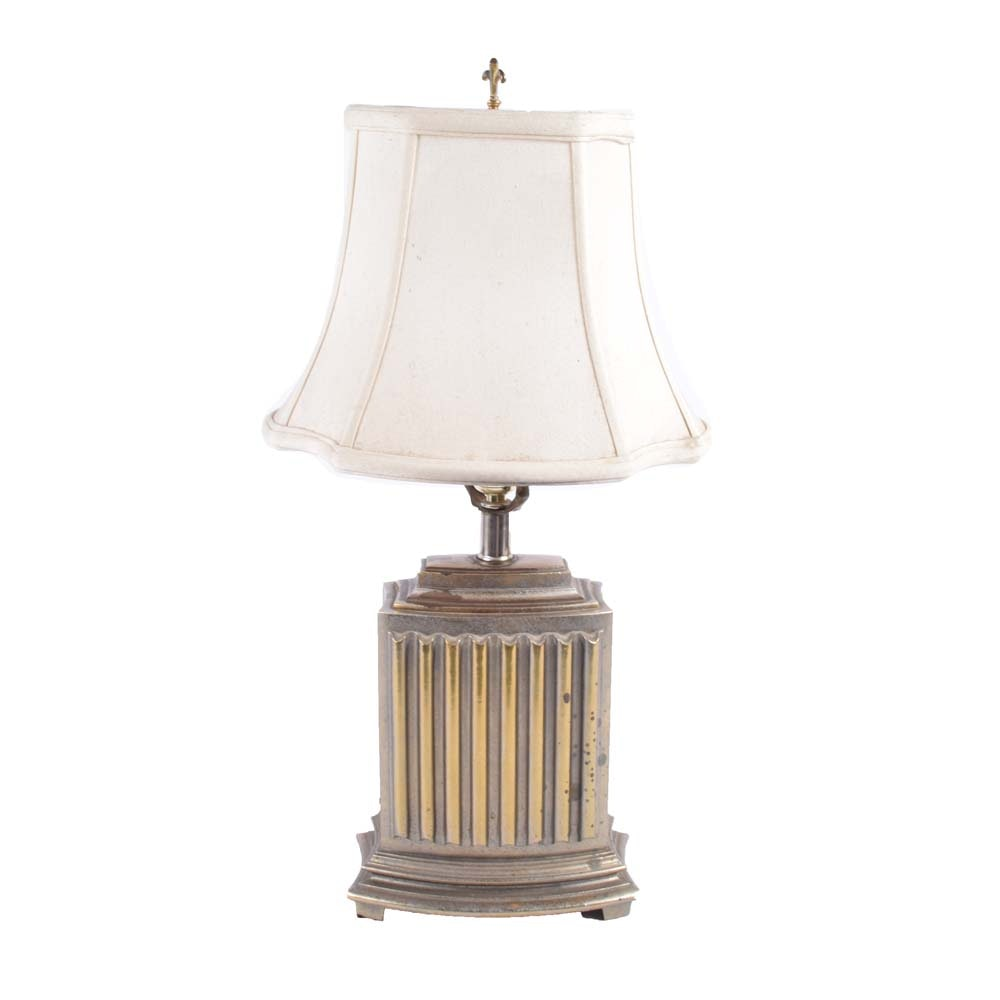Art Deco Revival Style Table Lamp