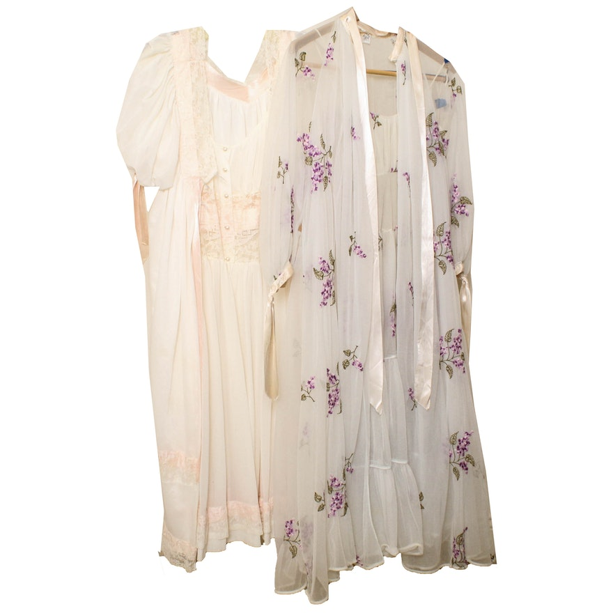 shop best sellers fresh styles elegant appearance Women's Vintage Negligee Sets