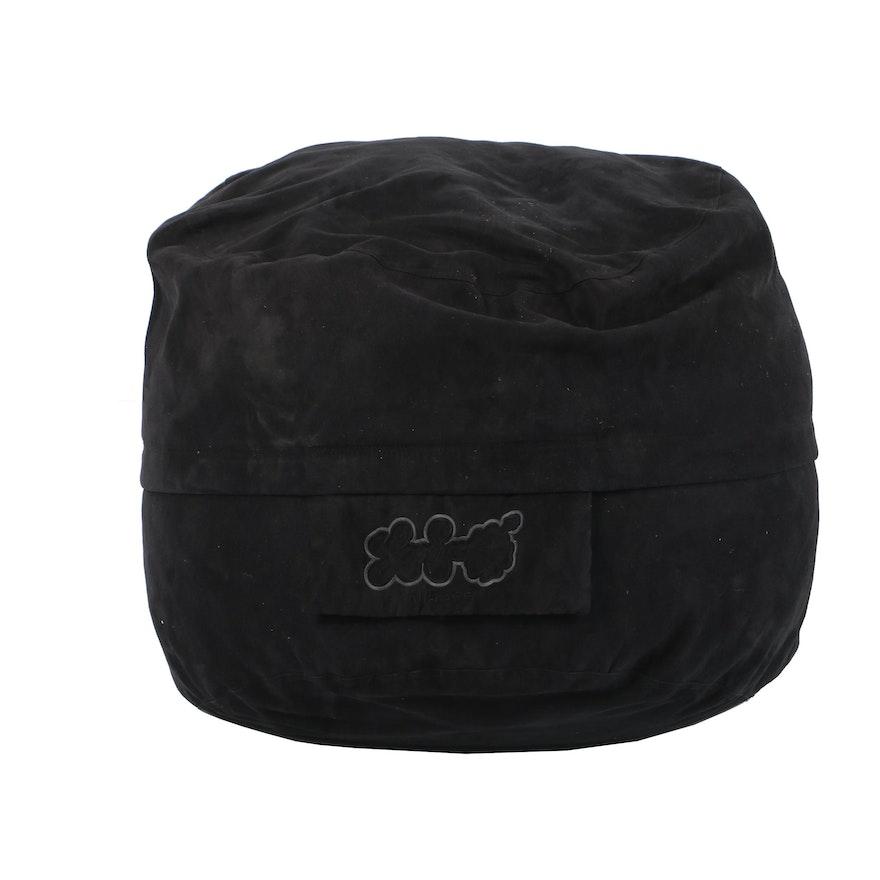 LoveSac Black Bean Bag Chair