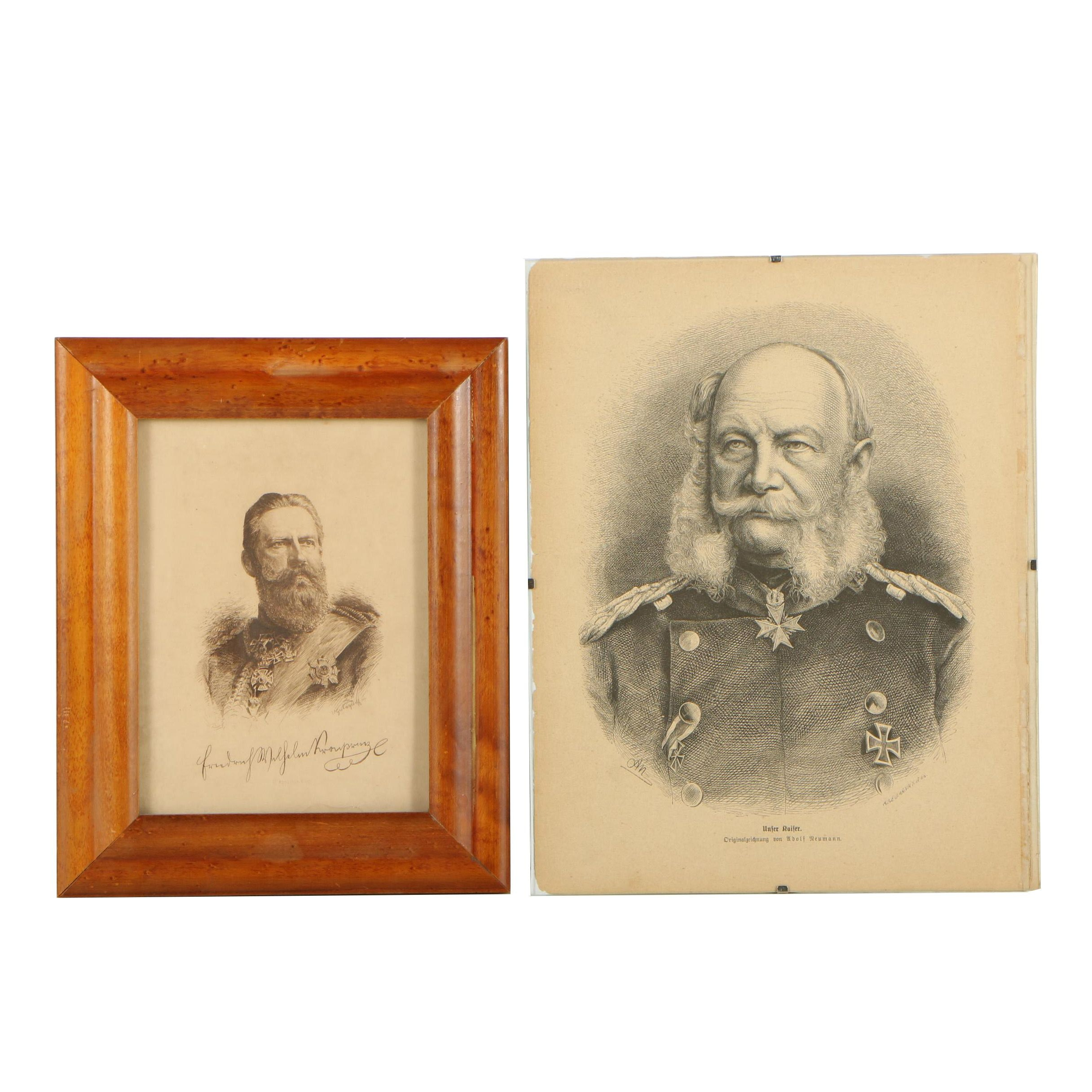 Late 19th Century Portrait Prints