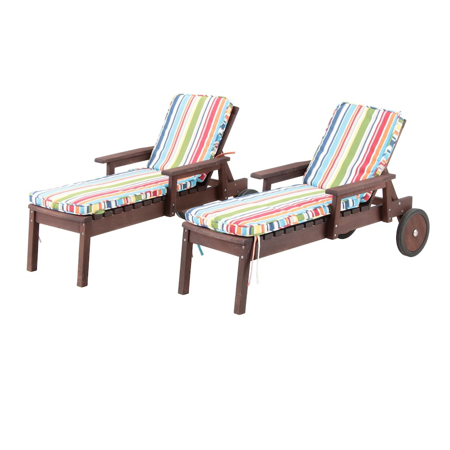 Pottery Barn Kids Outdoor Lounge Chairs