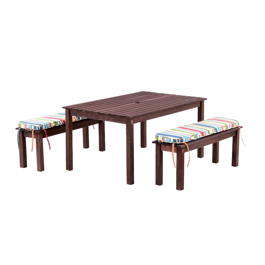Pottery Barn Kids Outdoor Picnic Furniture Set Ebth