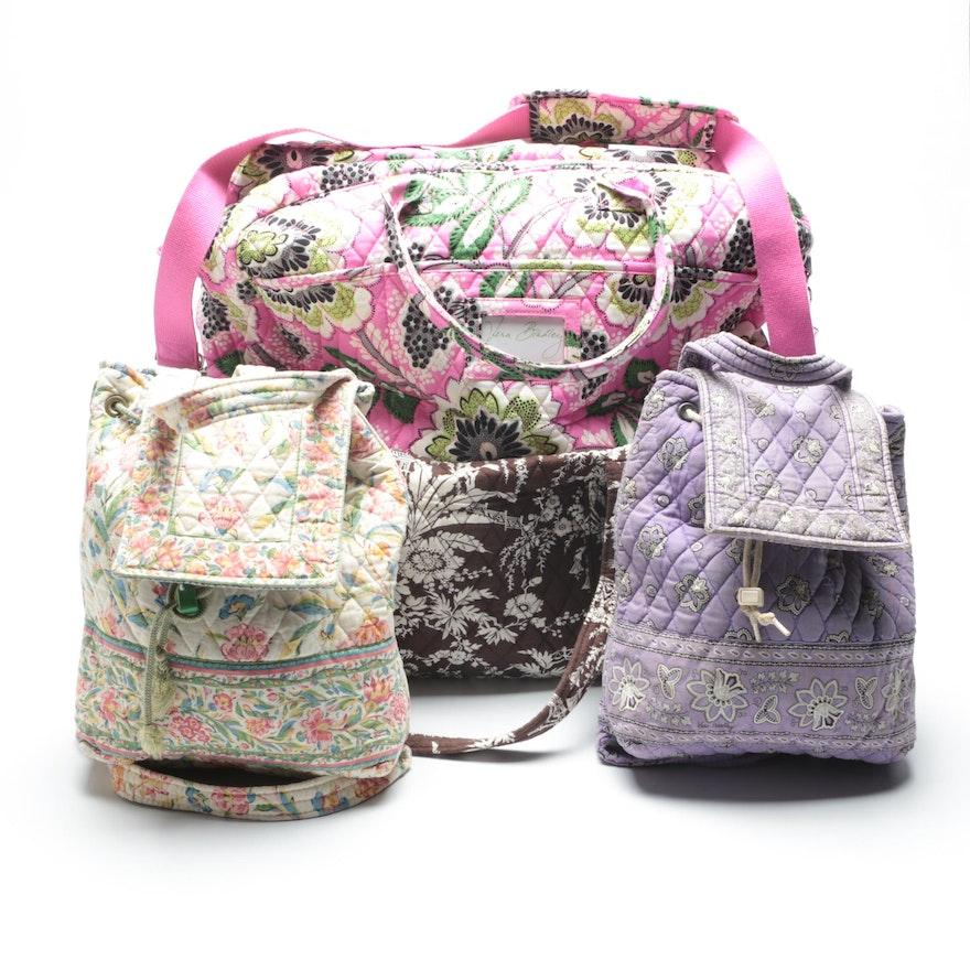 93beb50d5b Vera Bradley Duffel Bags and Mimi Backpacks   EBTH