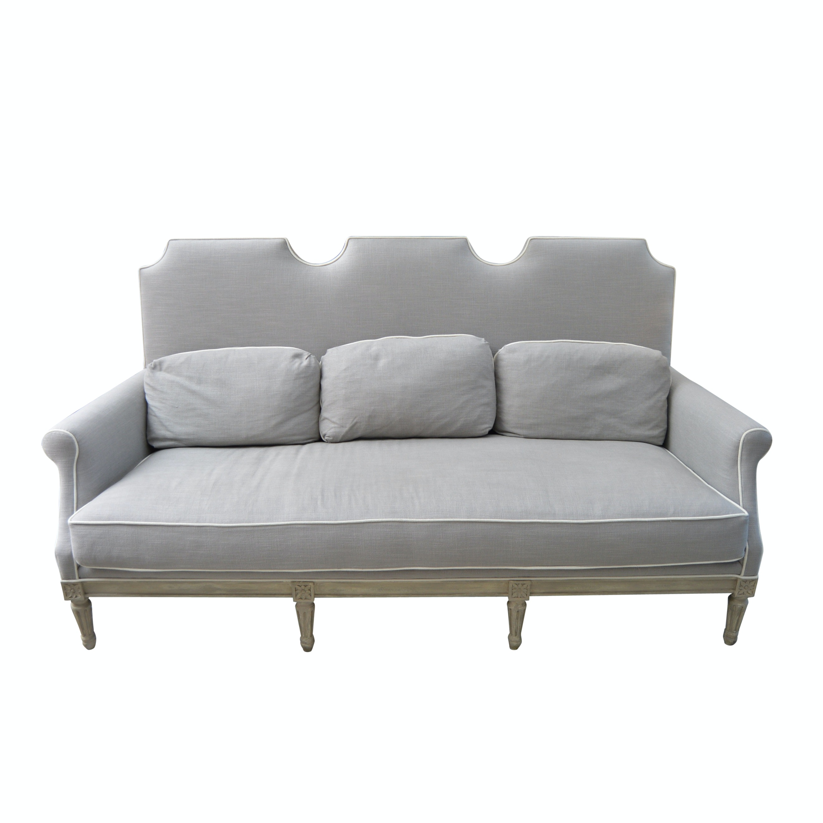 Louis XVI Style Upholstered Sofa from John-Richard