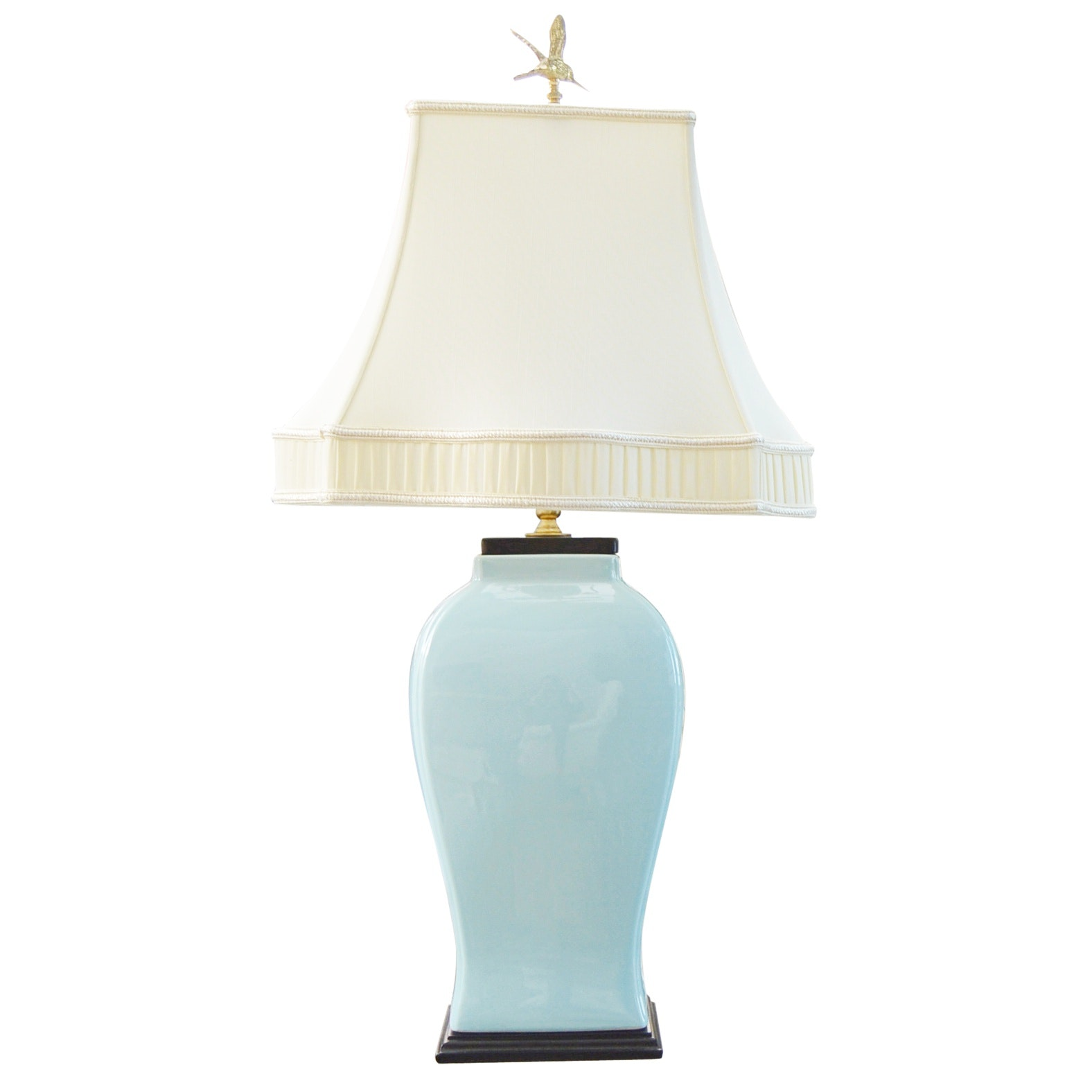 Blue Porcelain Urn Table Lamp