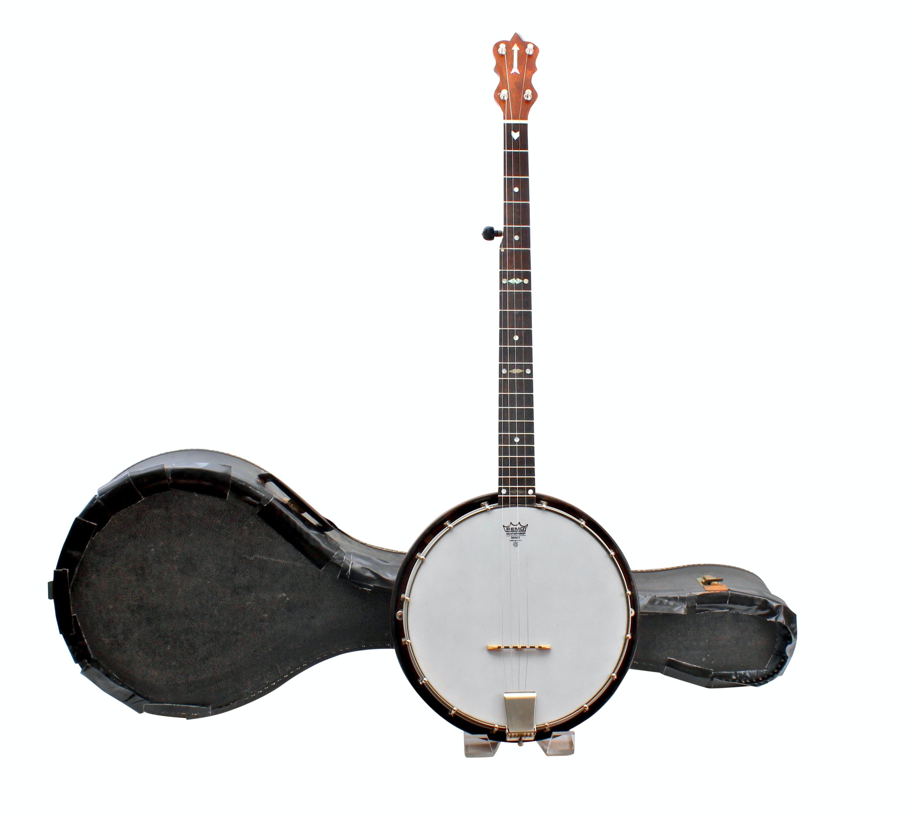 Vintage Five-String Banjo with Case