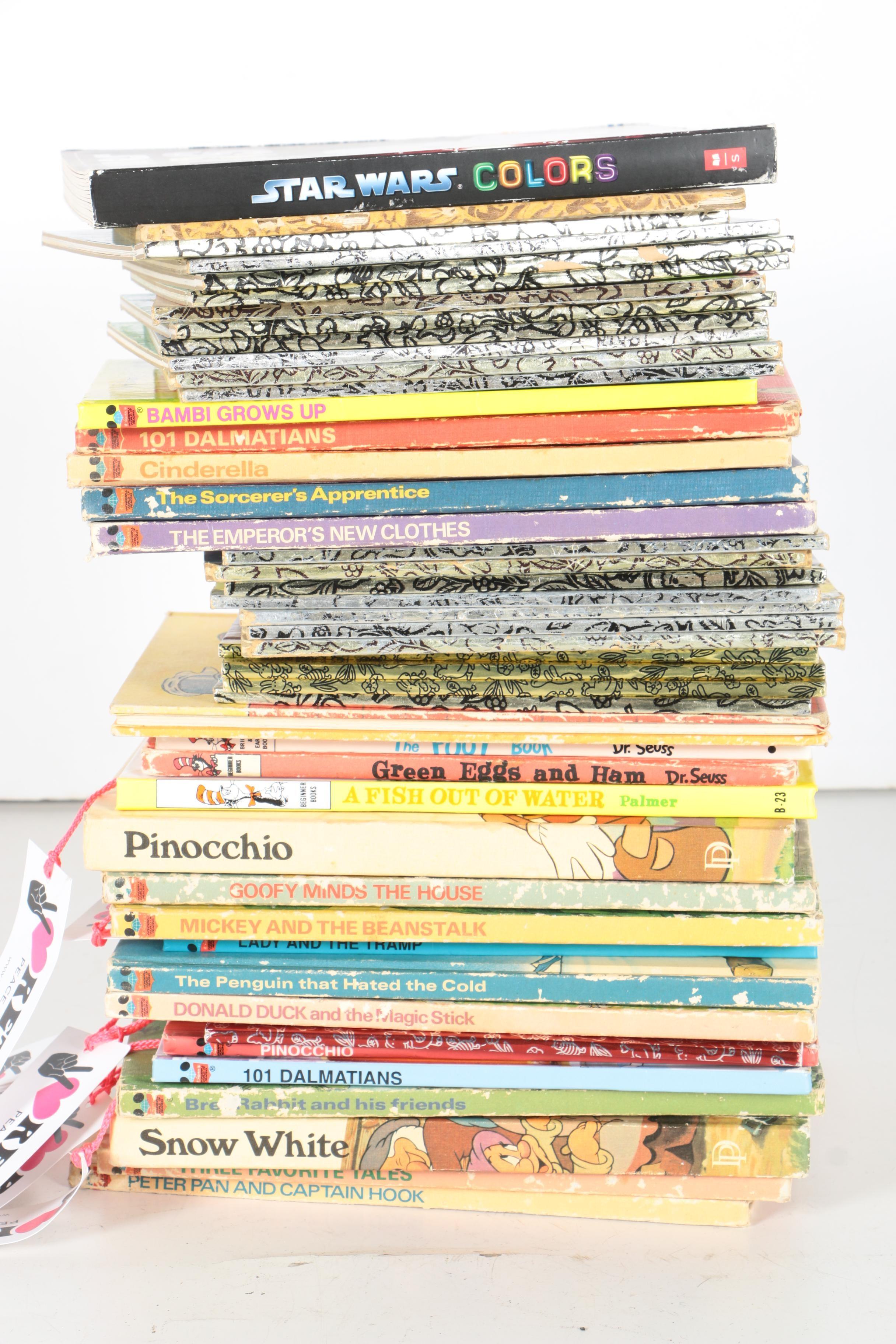 Assorted Disney Story Books
