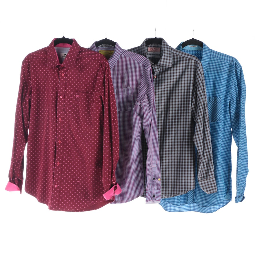 2626e1e7 Men's Button-Front Shirts Including Thomas Pink and Moods of Norway ...