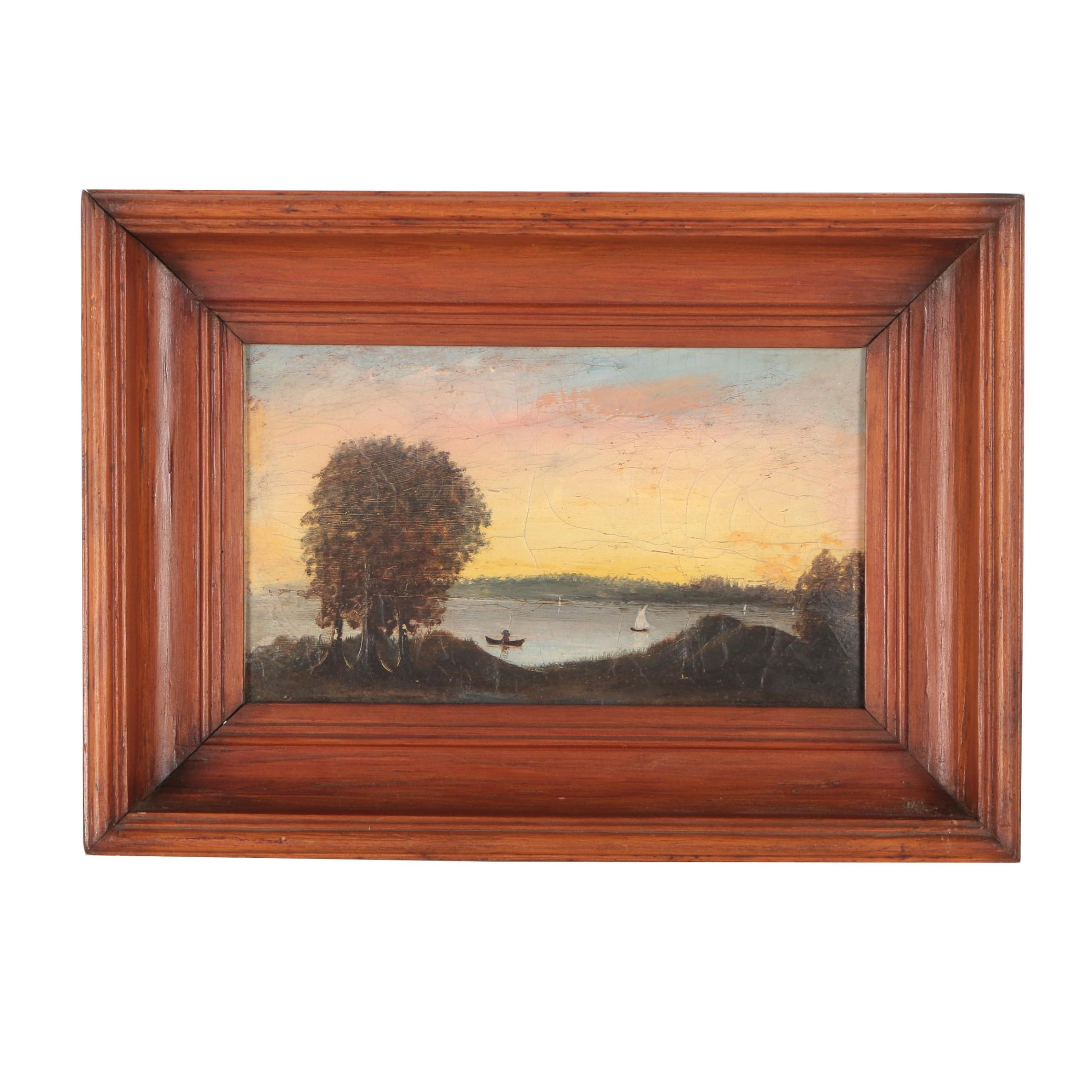 Late 19th Early 20th Century Oil Painting