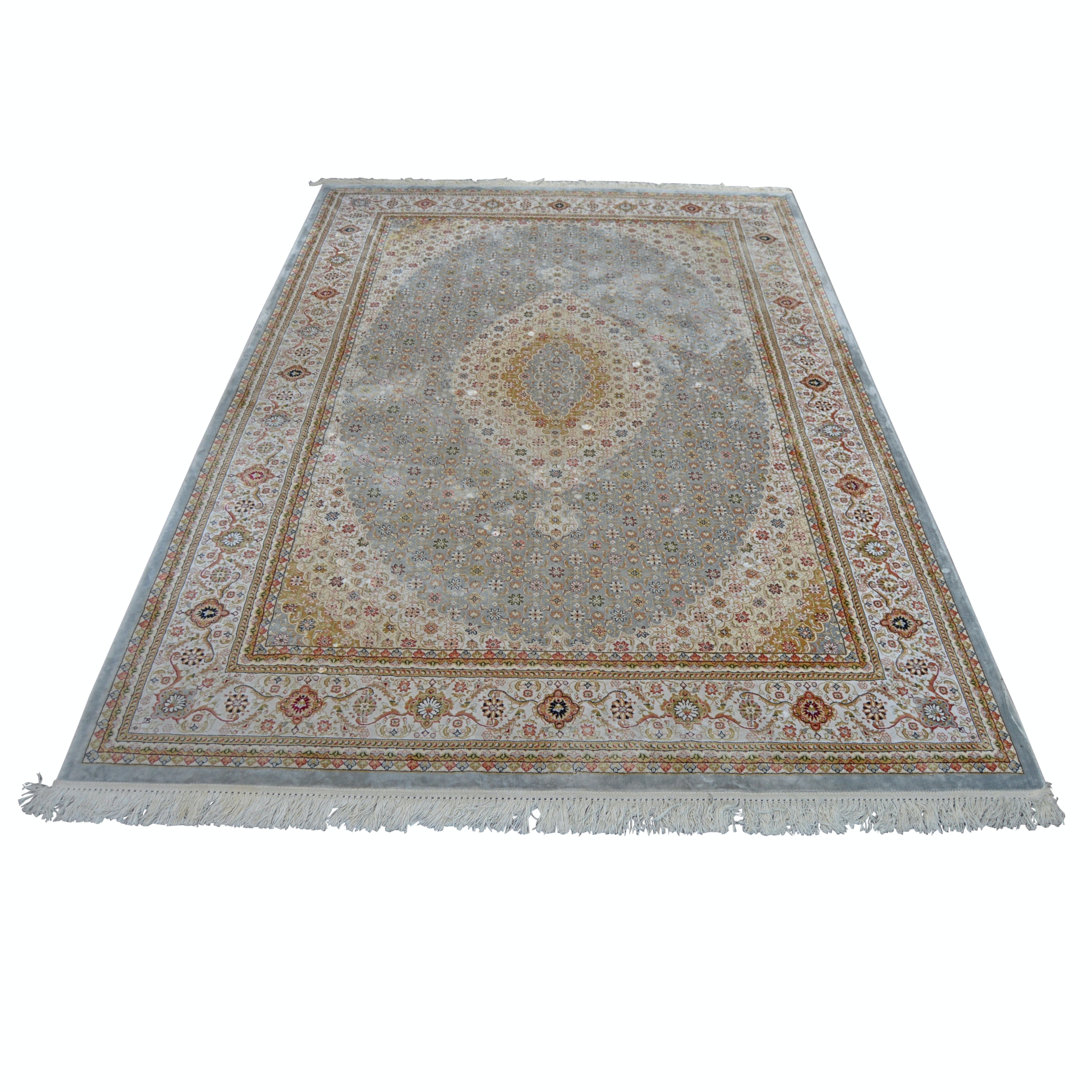 """Machine Woven Marcella's Faux Silk Collection """"Sherzad"""" Area Rug"""