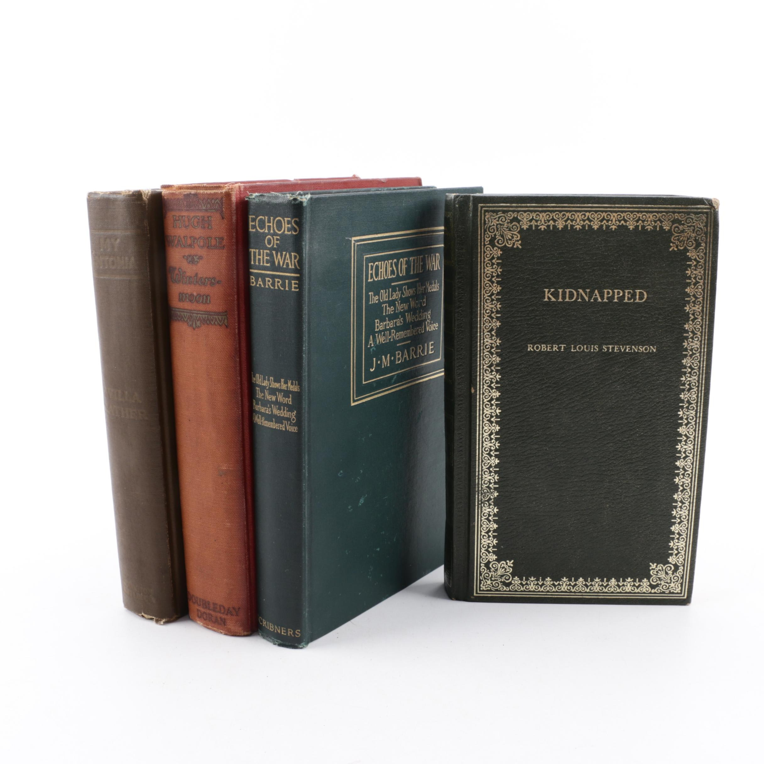 """1918 First American Edition """"Echoes of War"""" by J.M. Barrie & Other Classics"""