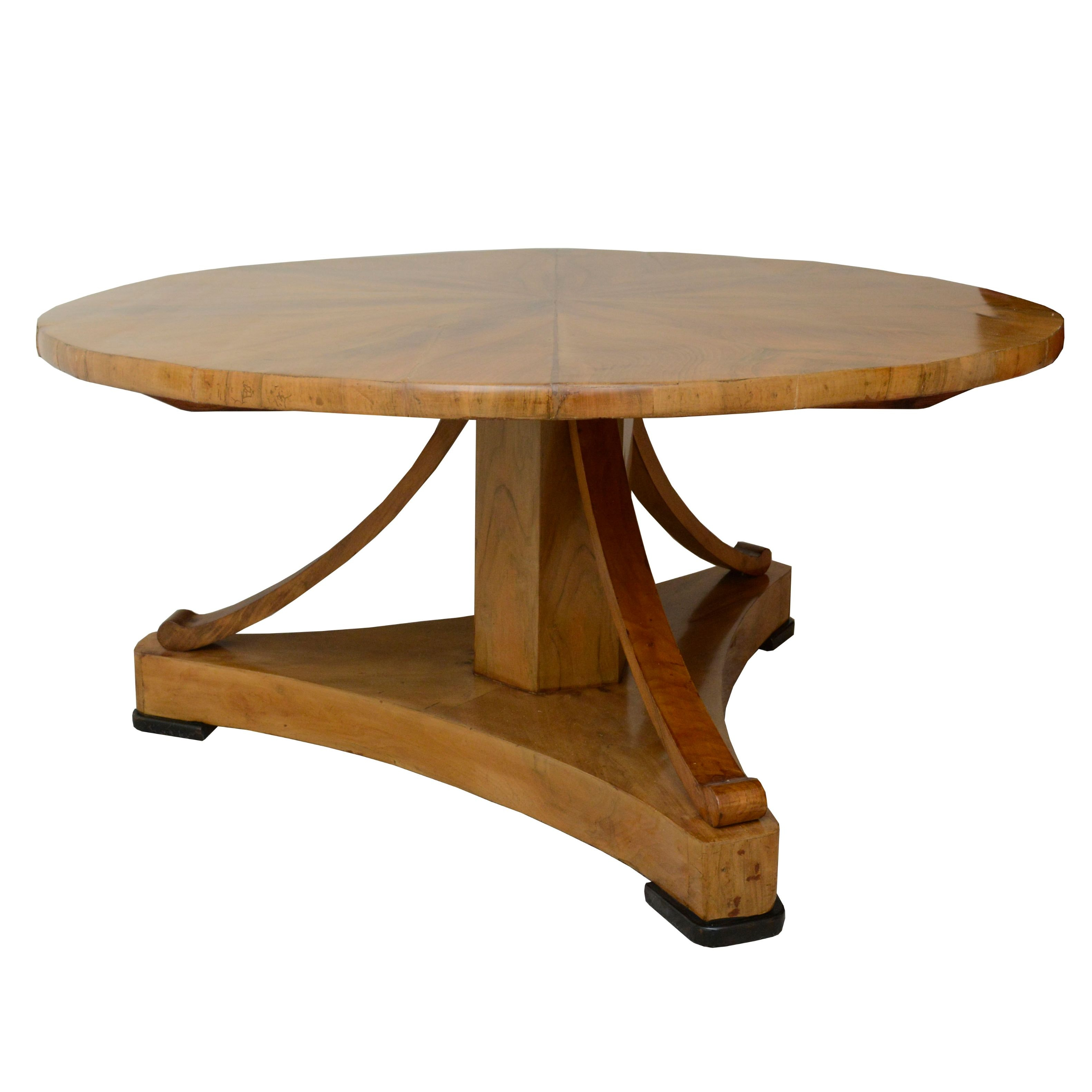 Vintage Biedermeier Style Coffee Table
