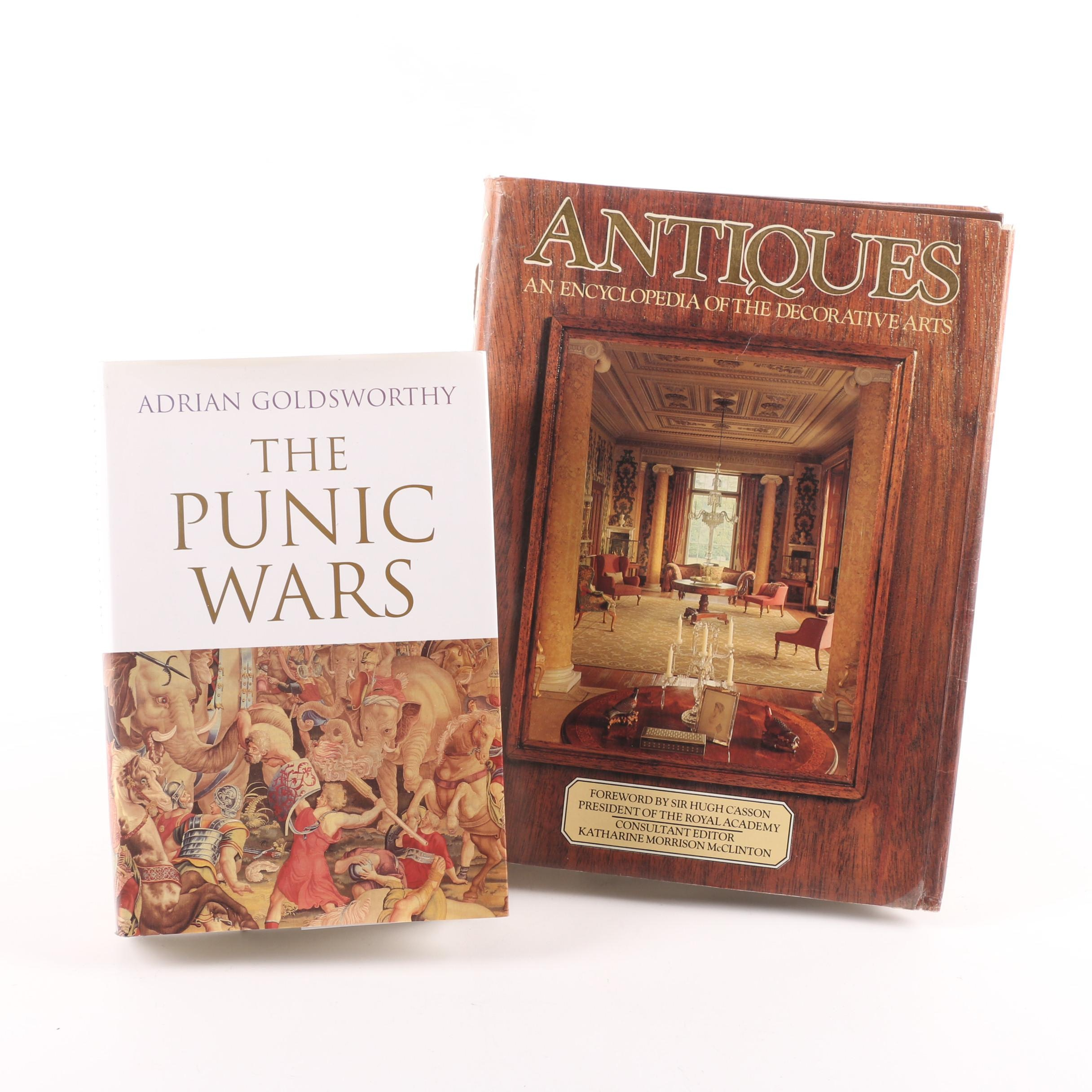 """2000 """"The Punic Wars"""" by Adrian Goldsworthy and 1979 """"Antiques"""""""