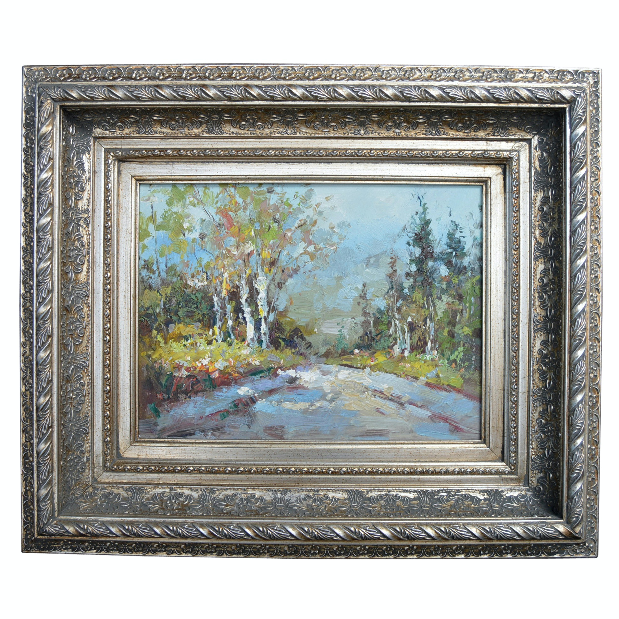 Original Oil on Canvas Landscape Painting