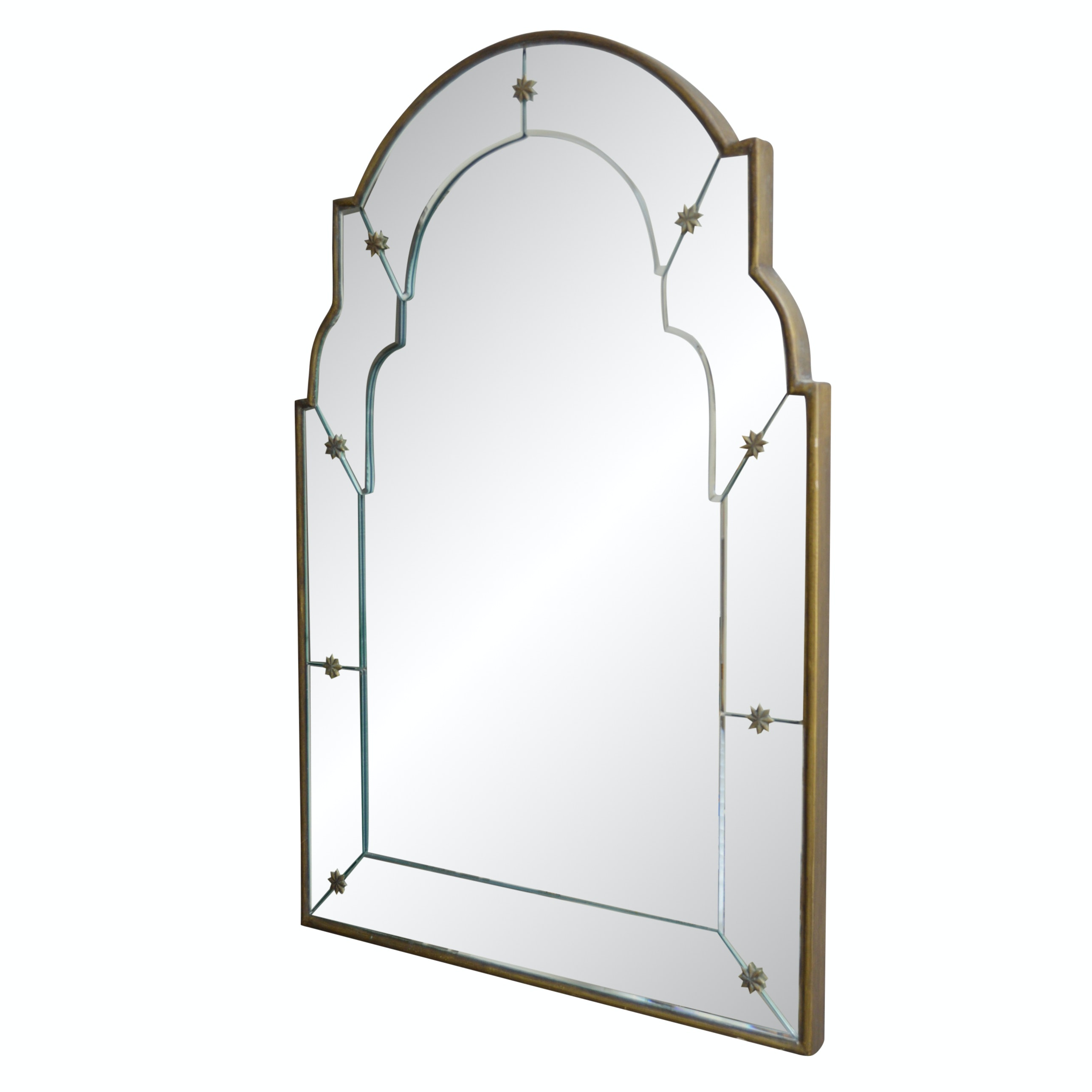 Vintage Art Deco Wall Mirror