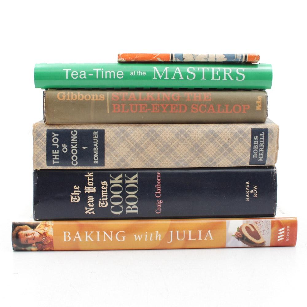 Vintage Cookbooks With Julia Child