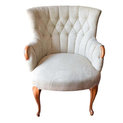 Mid Century French Provincial Armchair