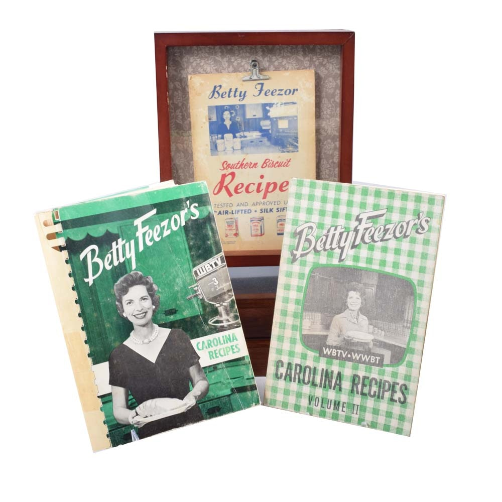 Vintage Betty Feezor Cookbooks