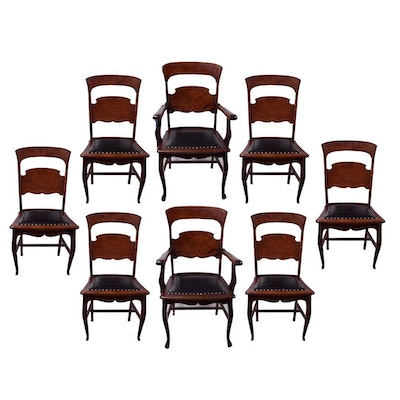Antique American Classical Style Dining Chairs