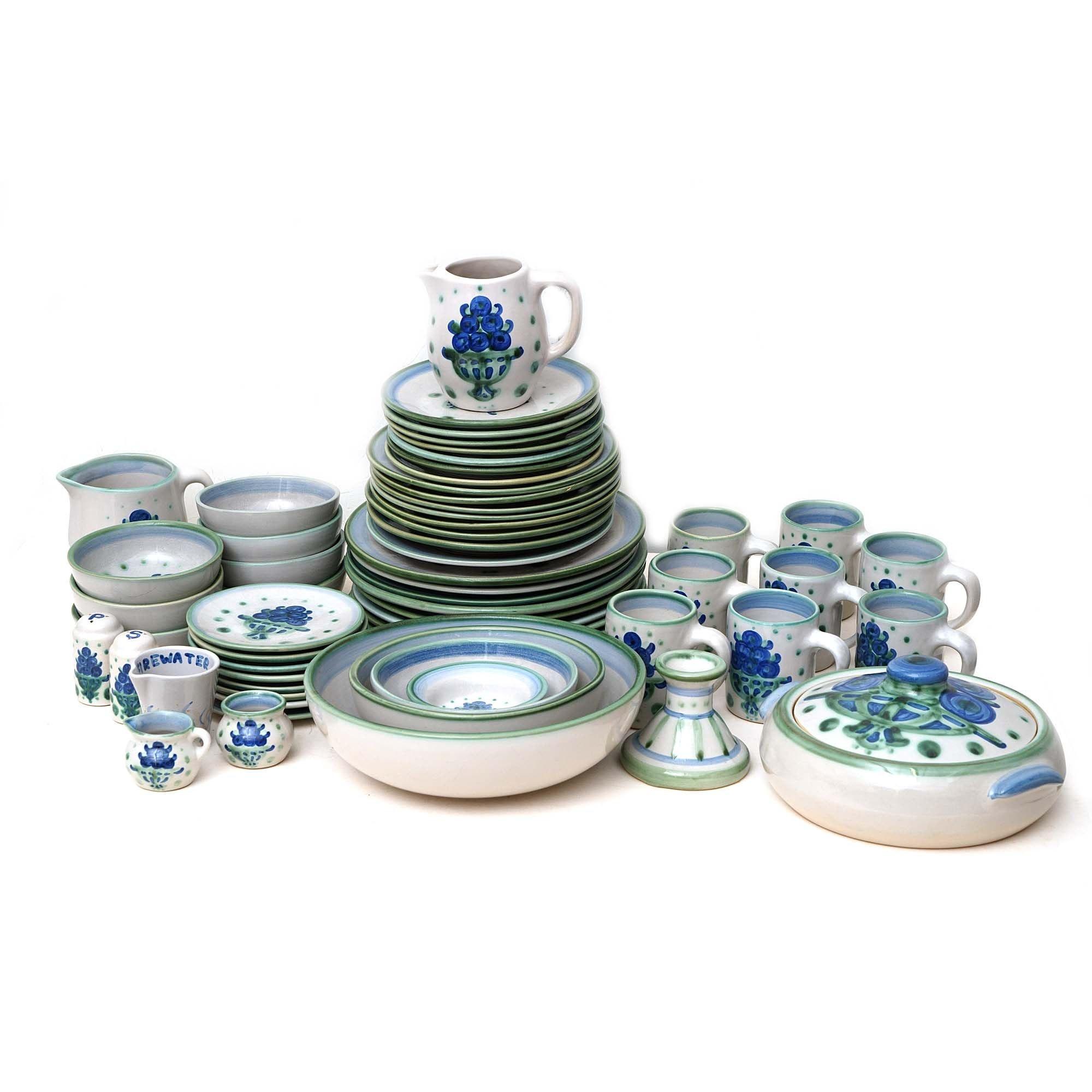"""M.A. Hadley """"Bouquet"""" Stoneware Dinnerware"""