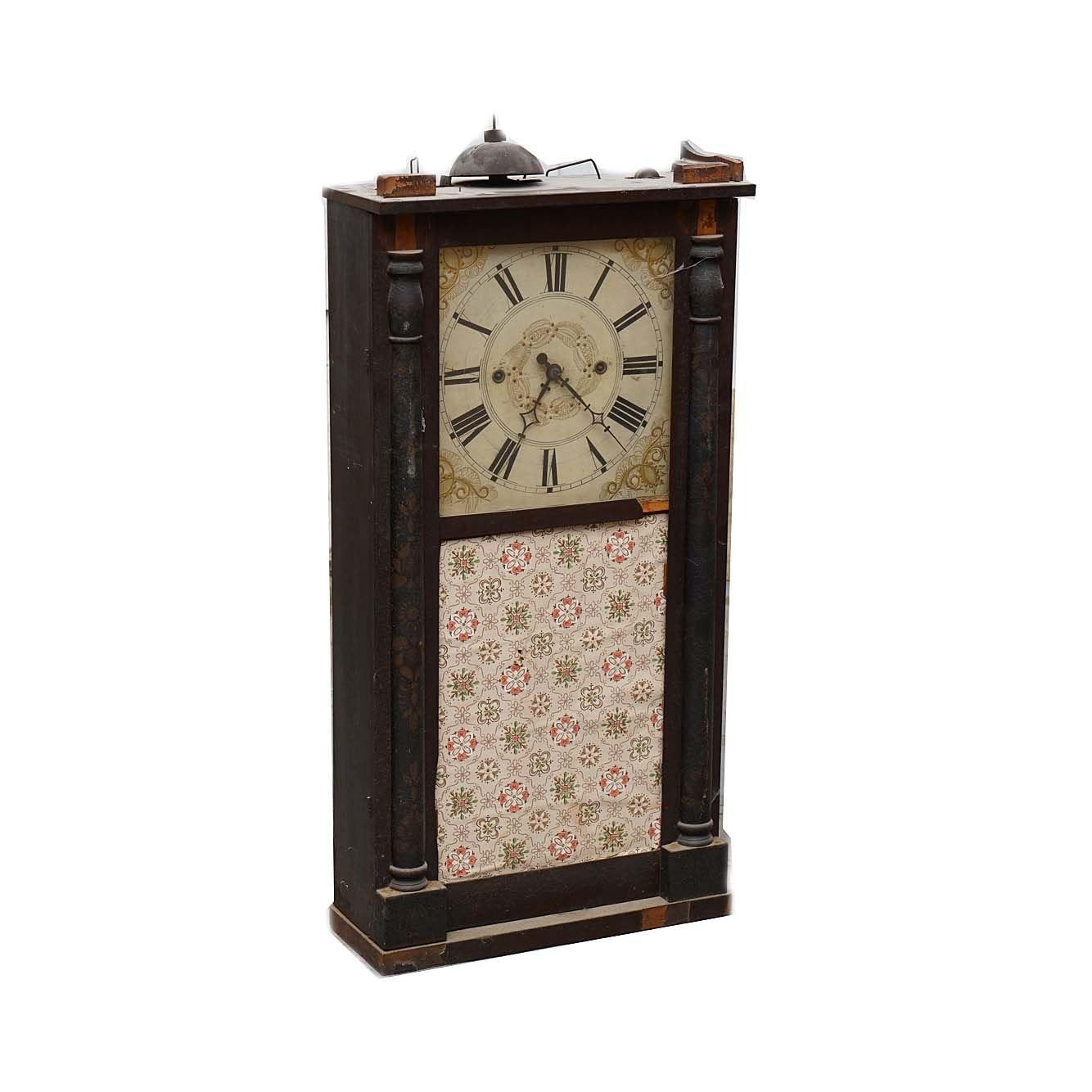 Antique Nantucket Henry A. Hinckley Ogee Clock Case
