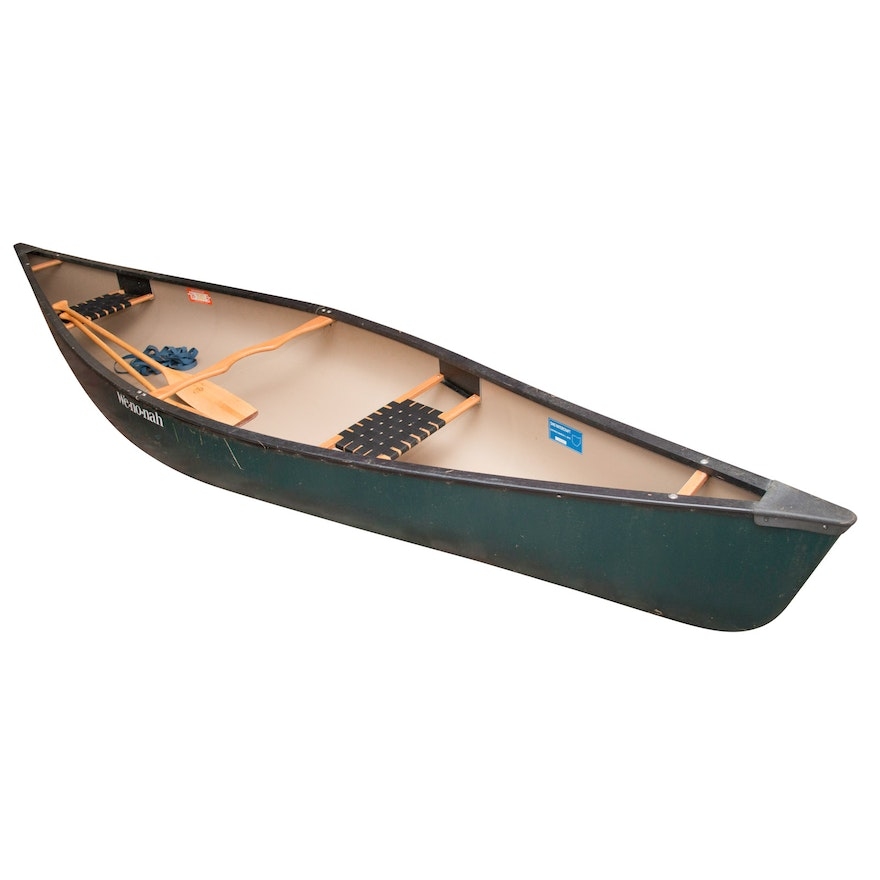 Wenonah Prospector 15 Canoe with Paddles