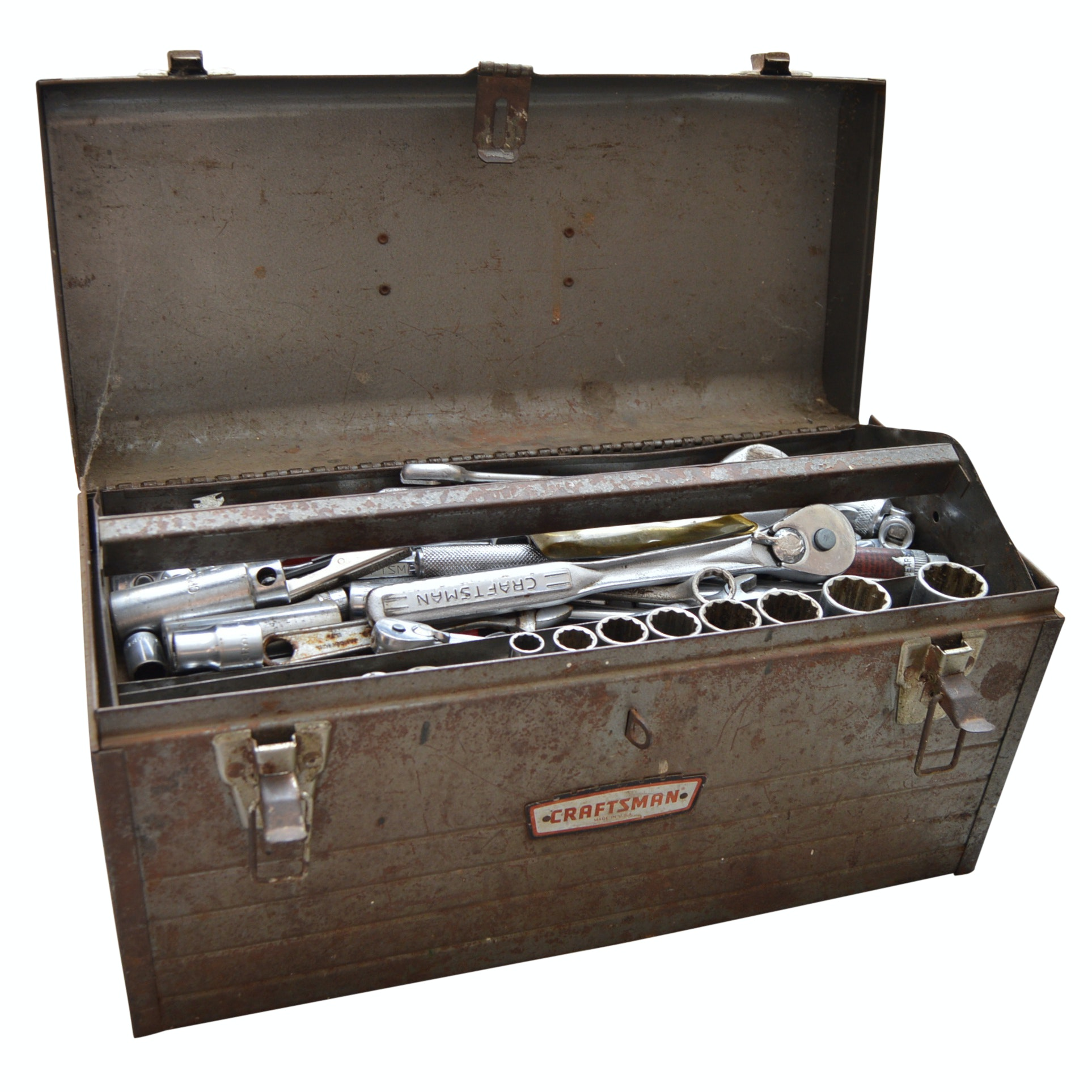Craftsman Toolbox with Tools