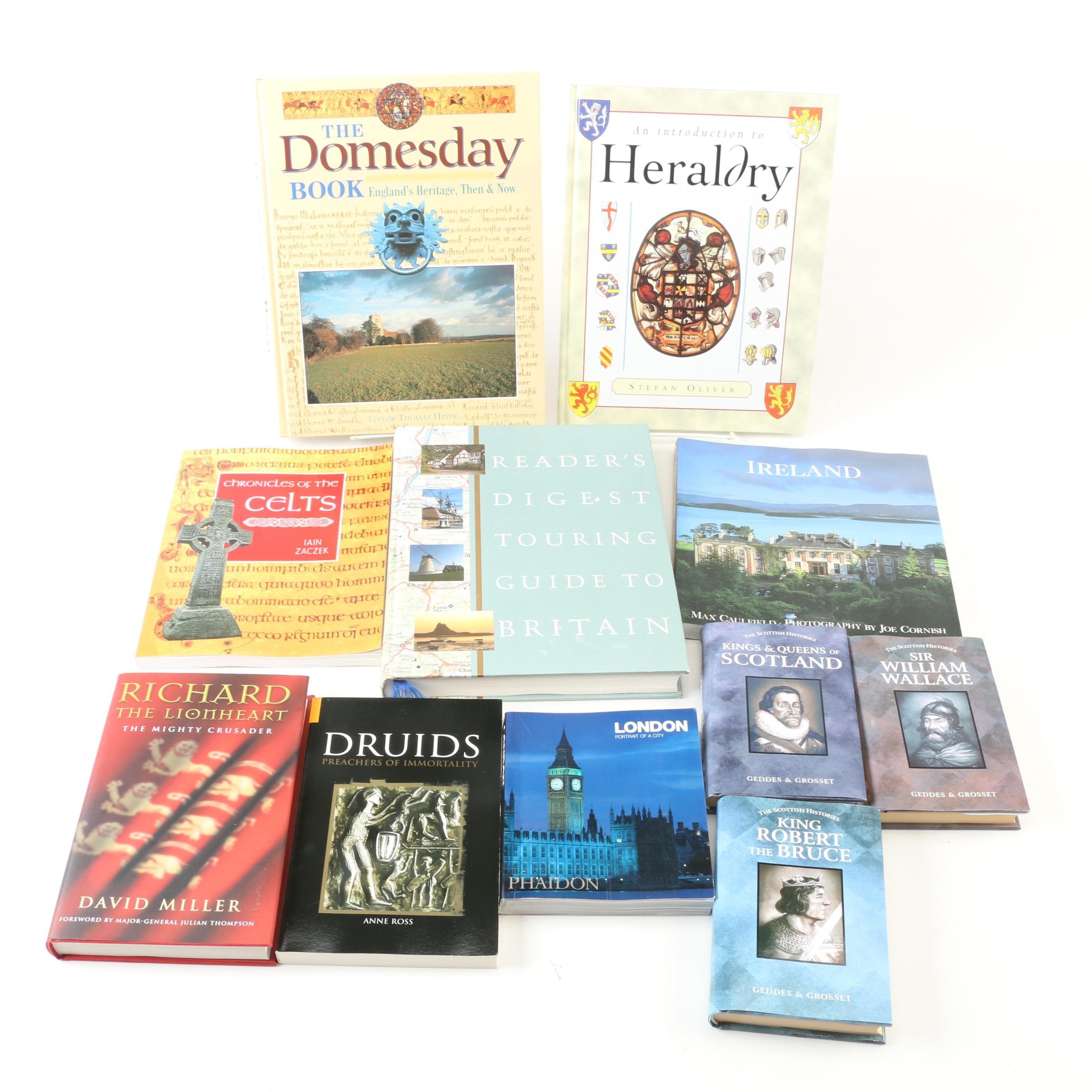 Books on Scotland, Ireland and England